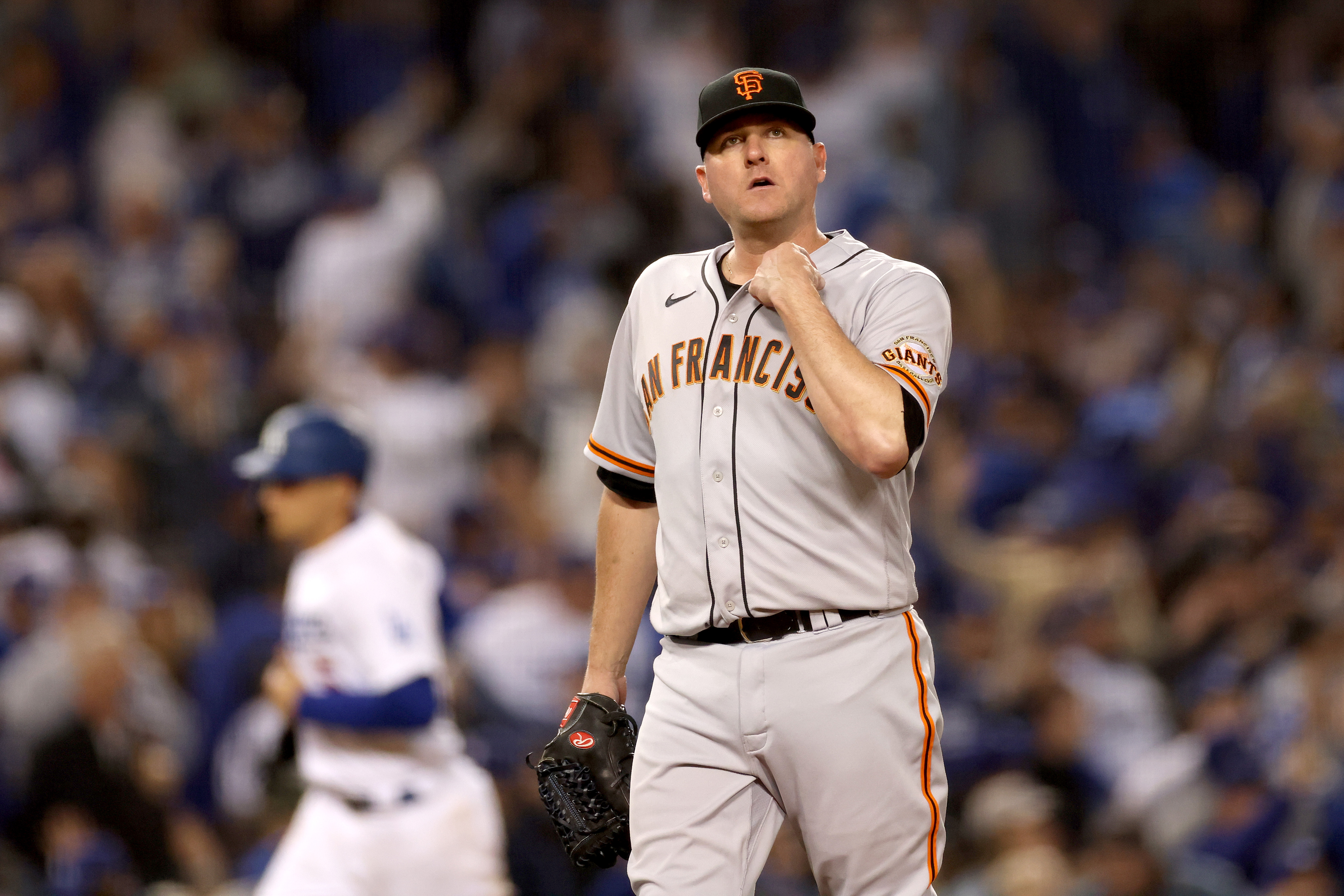 Division Series - San Francisco Giants v Los Angeles Dodgers - Game Four