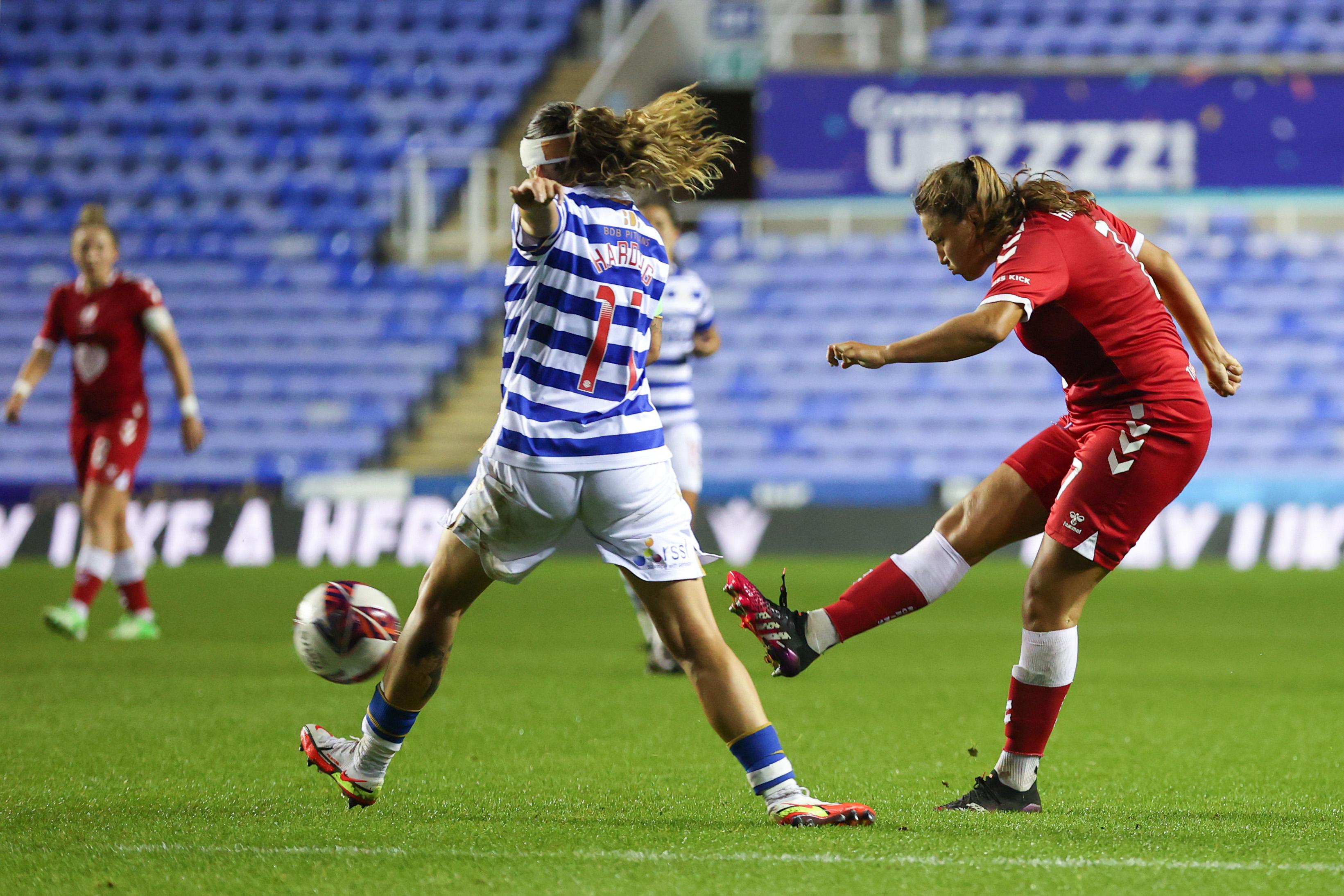 Reading Women v Bristol City Women - FA Women's Continental Tyres League Cup