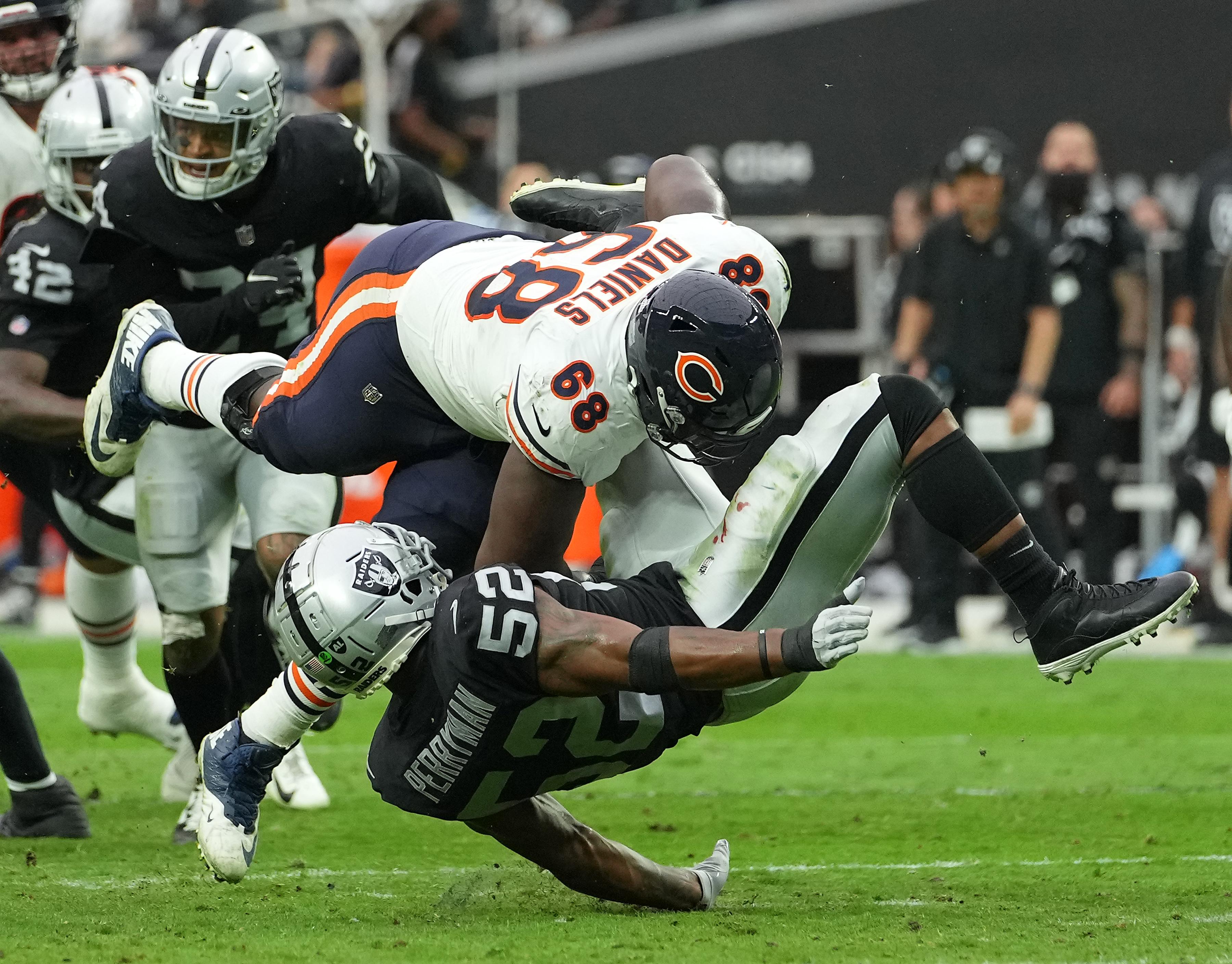 NFL: Chicago Bears at Las Vegas Raiders