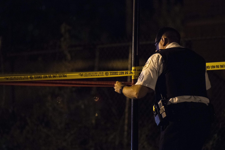 Ten shot, one fatally, October 14, 2021 in Chicago.