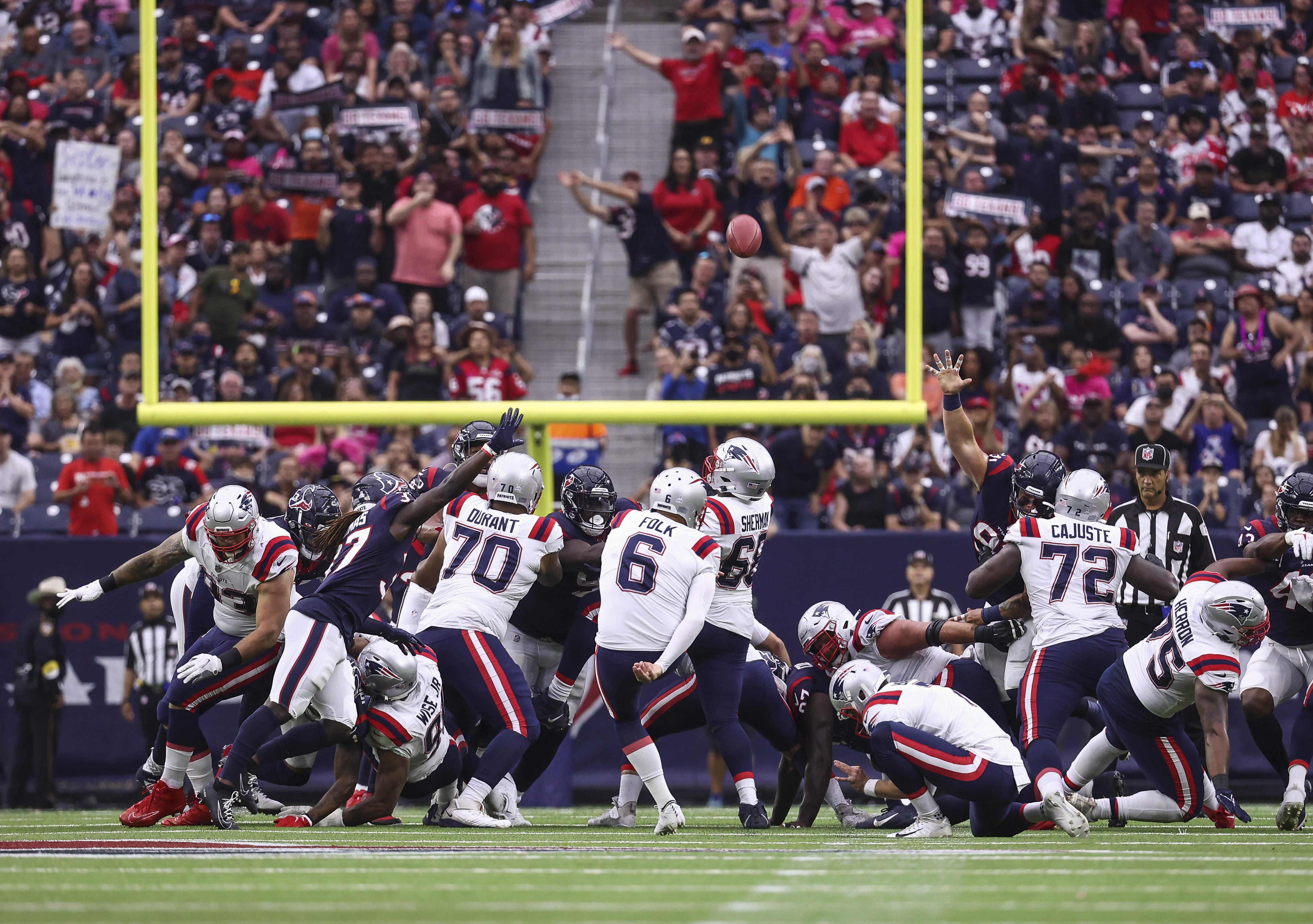 NFL: New England Patriots at Houston Texans