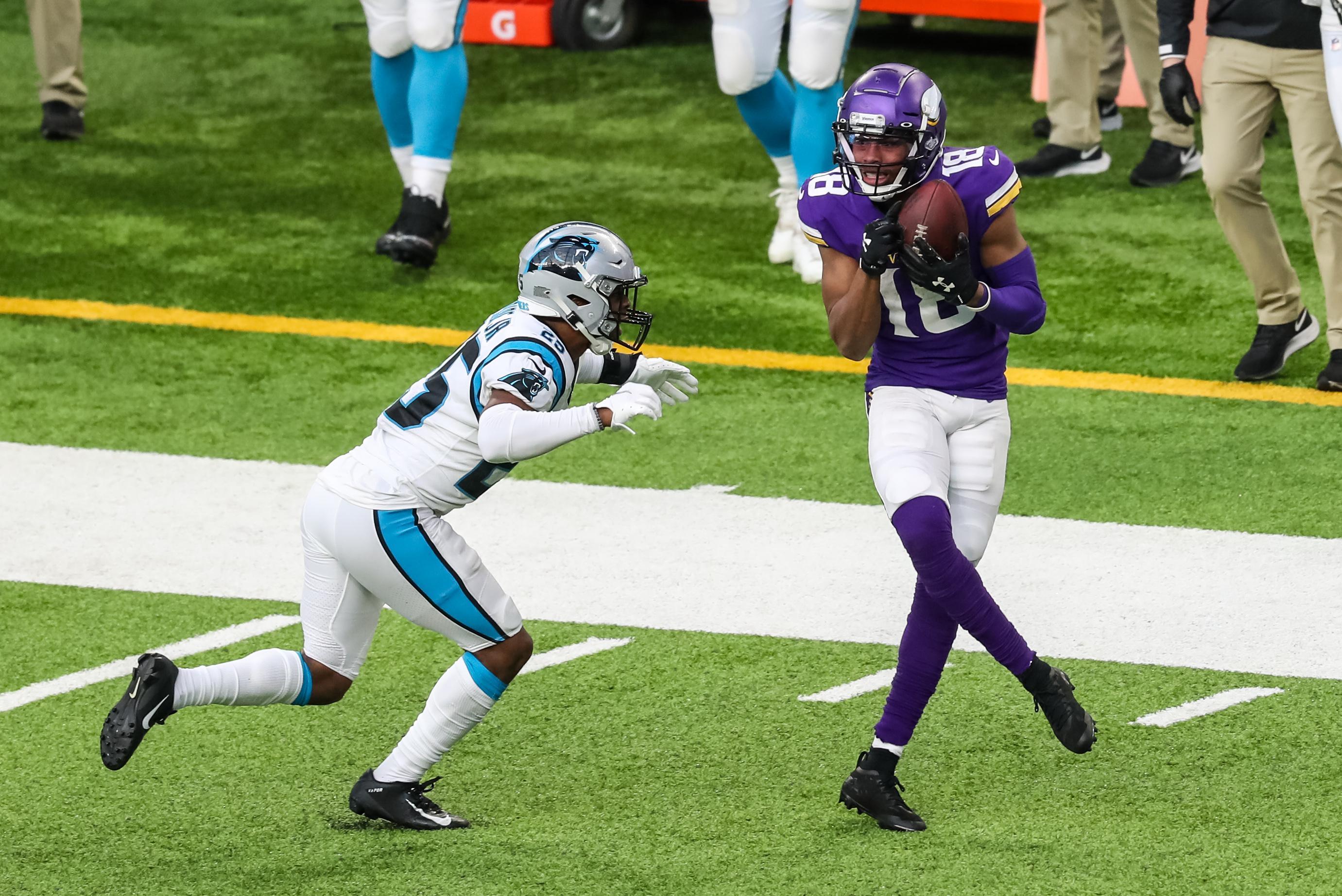 NFL: Carolina Panthers at Minnesota Vikings