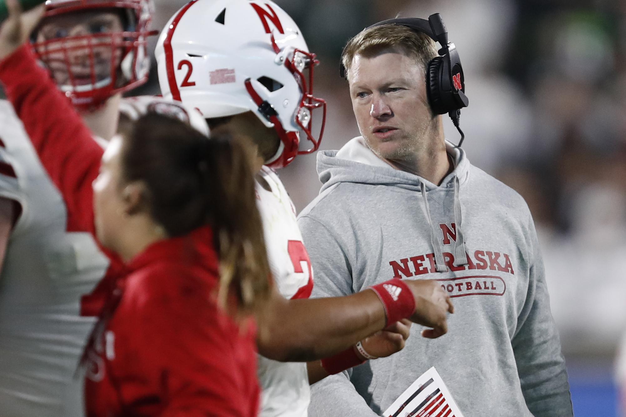 NCAA Football: Nebraska at Michigan State
