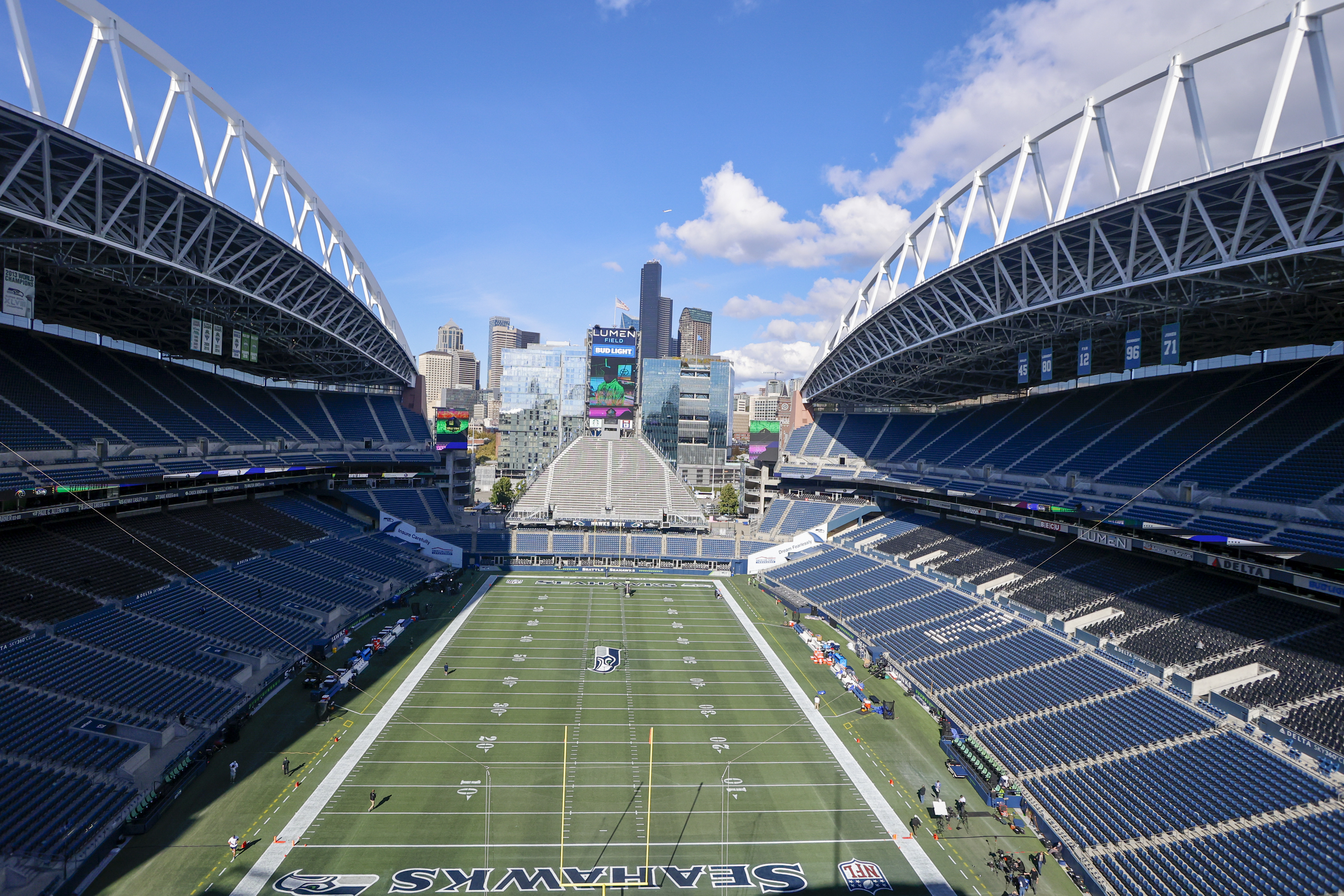 NFL: OCT 07 Rams at Seahawks