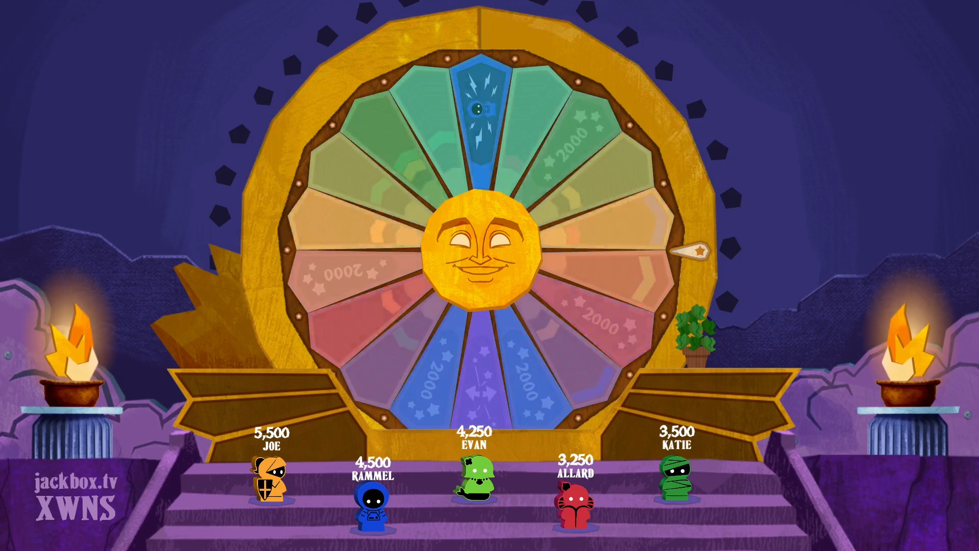 Jackbox Party Pack 8 - The colorful Wheel of Enormous Proportions is ready for a spin