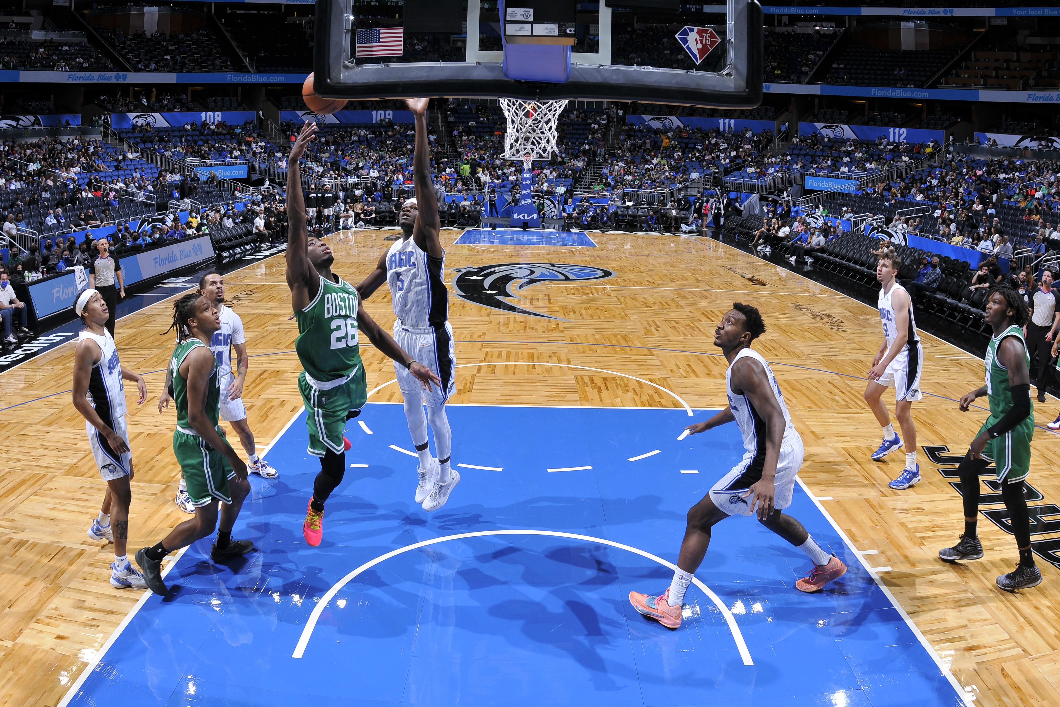 Boston Celtics v Orlando Magic