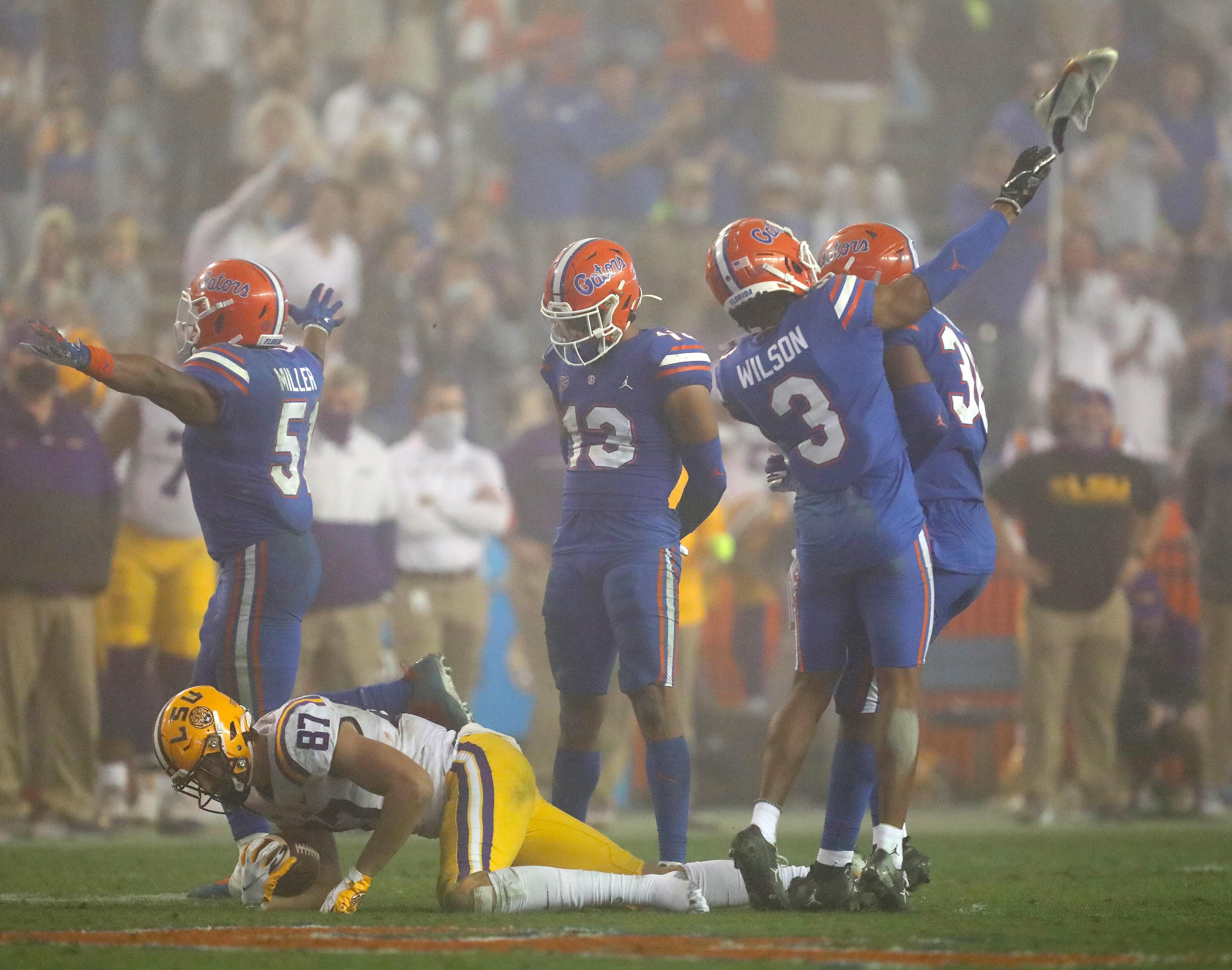 NCAA Football: LSU at Florida
