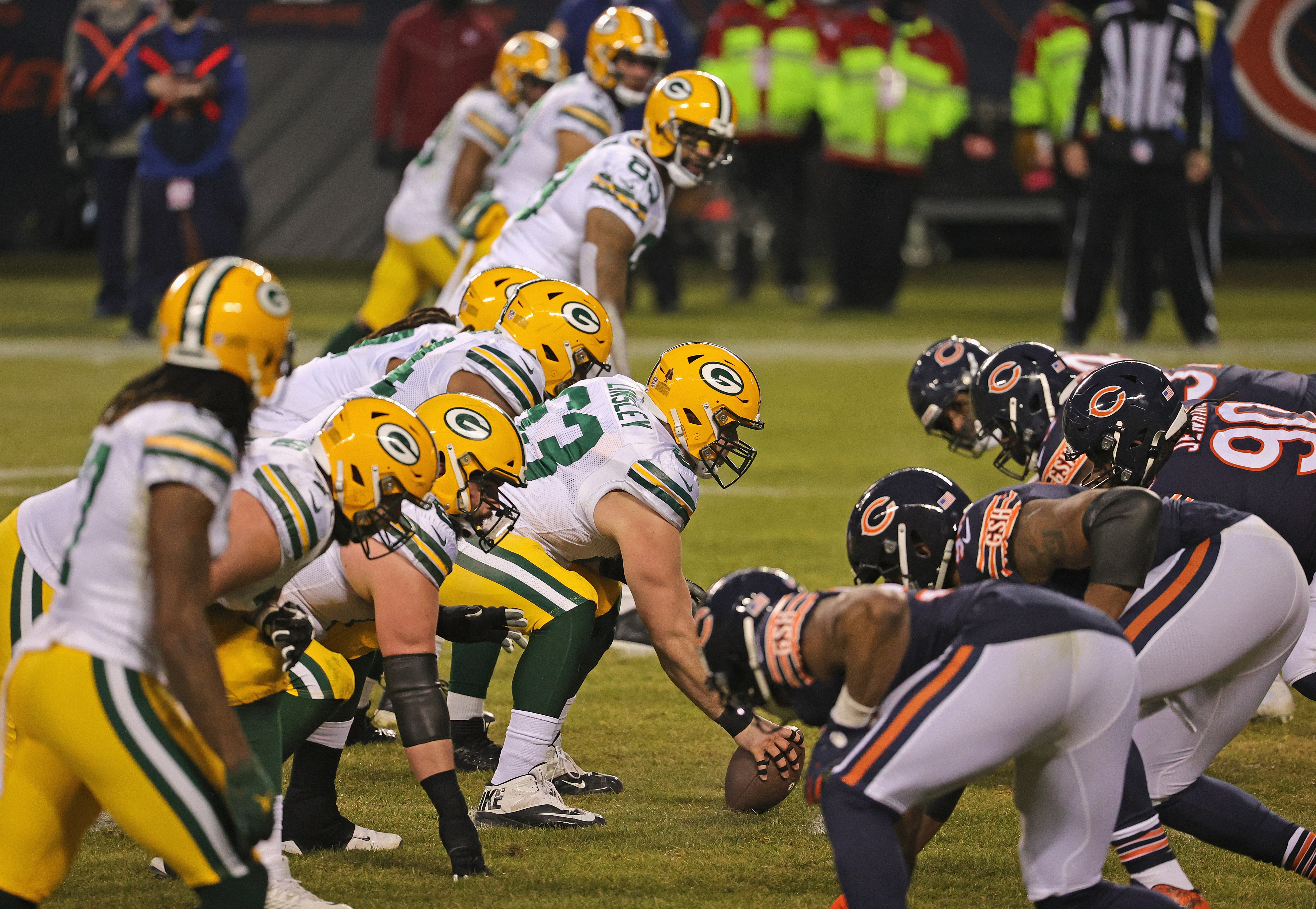 The Bears and Packers last played Jan. 3.