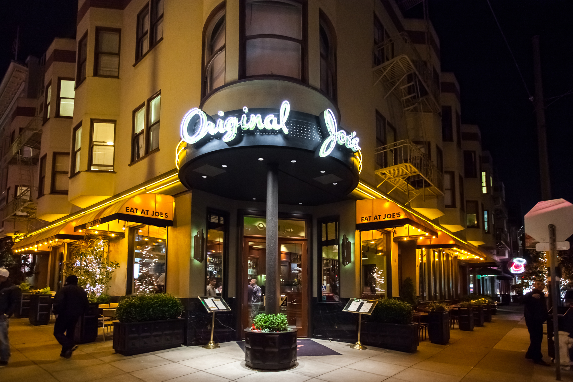 Original Joe's, Friday 6pm