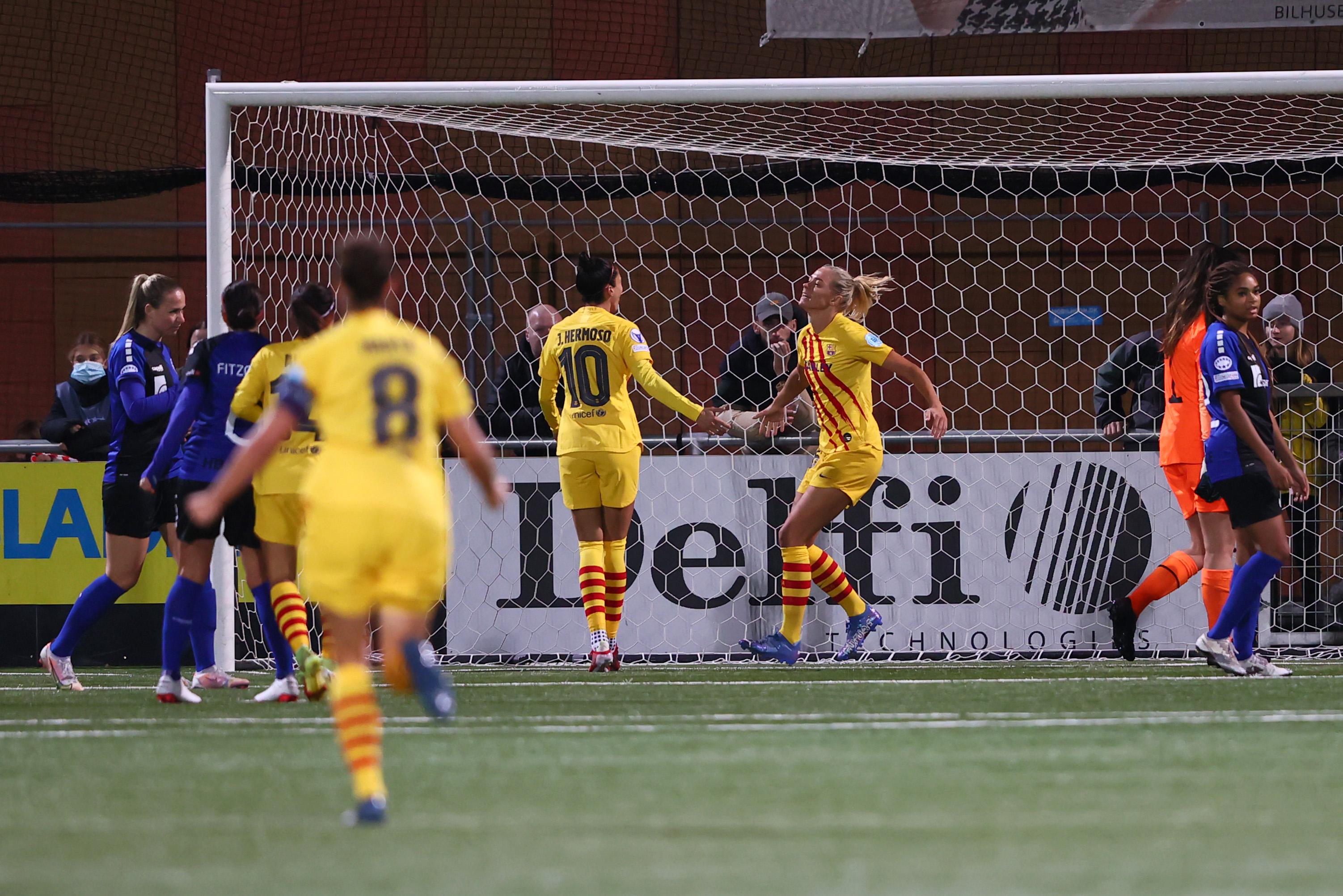 HB Koege v FC Barcelona: Group C - UEFA Women's Champions League
