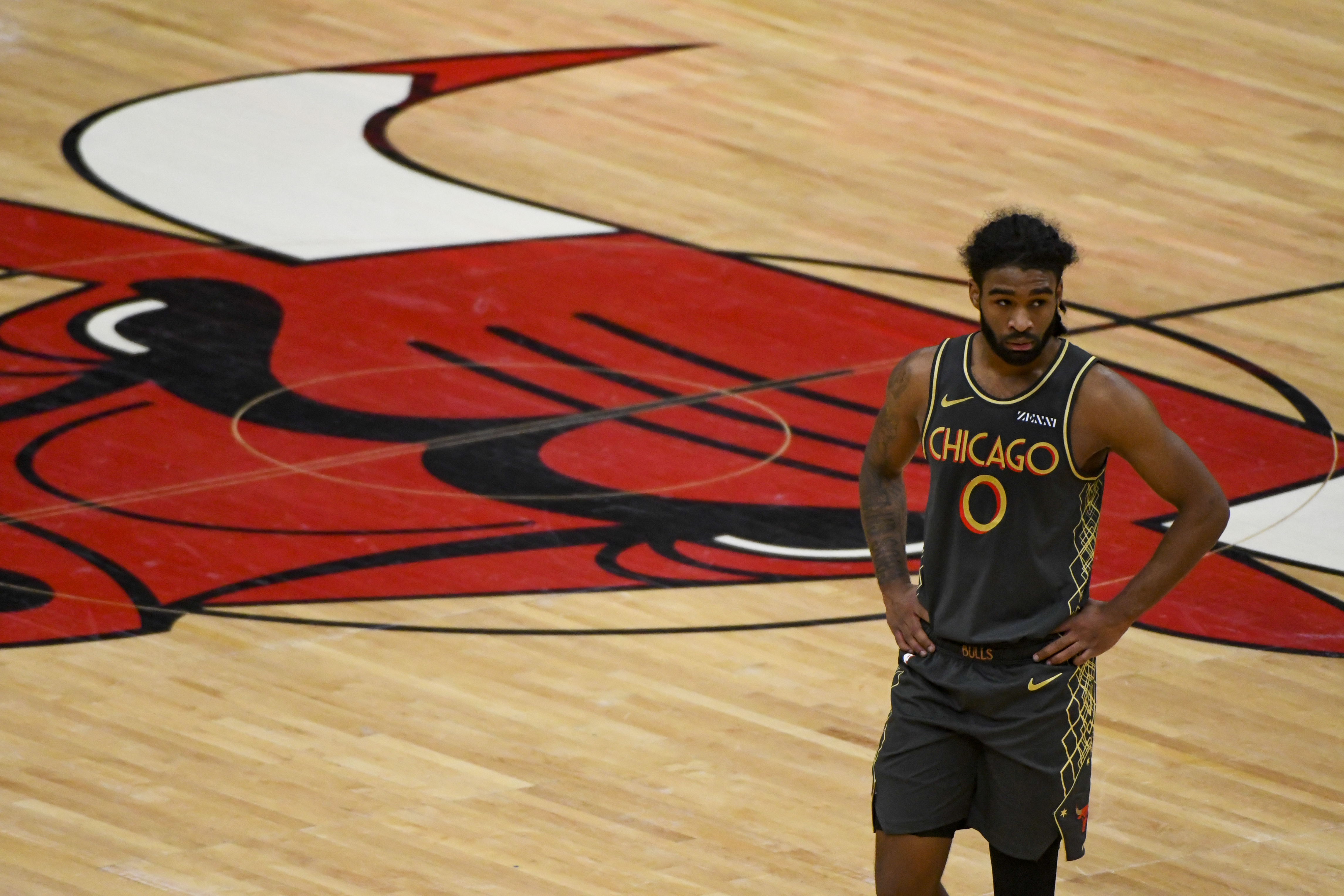 Coby White's comeback from offseason surgery isn't going as the Bulls planned.
