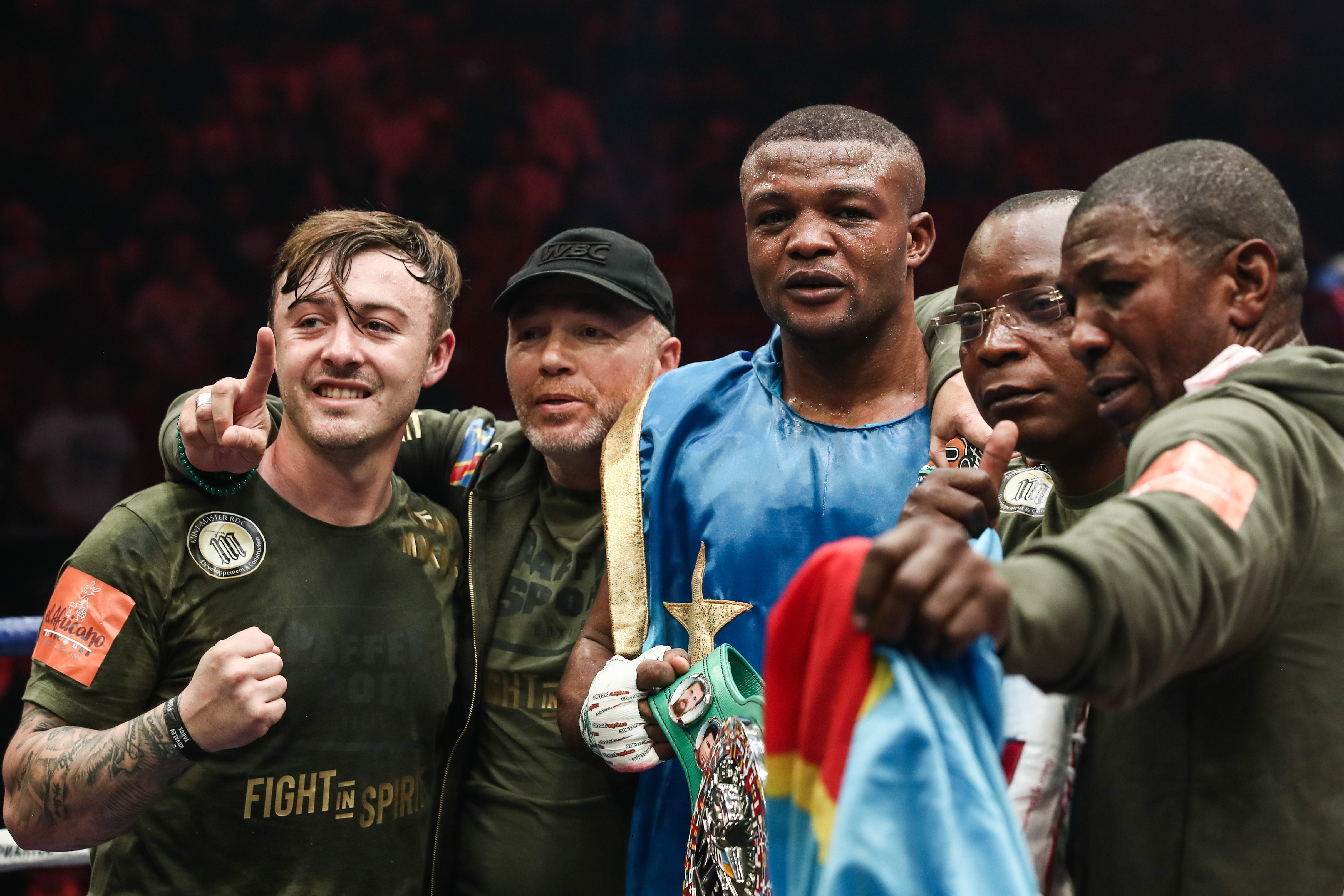 Boxing show in Chelyabinsk, Russia