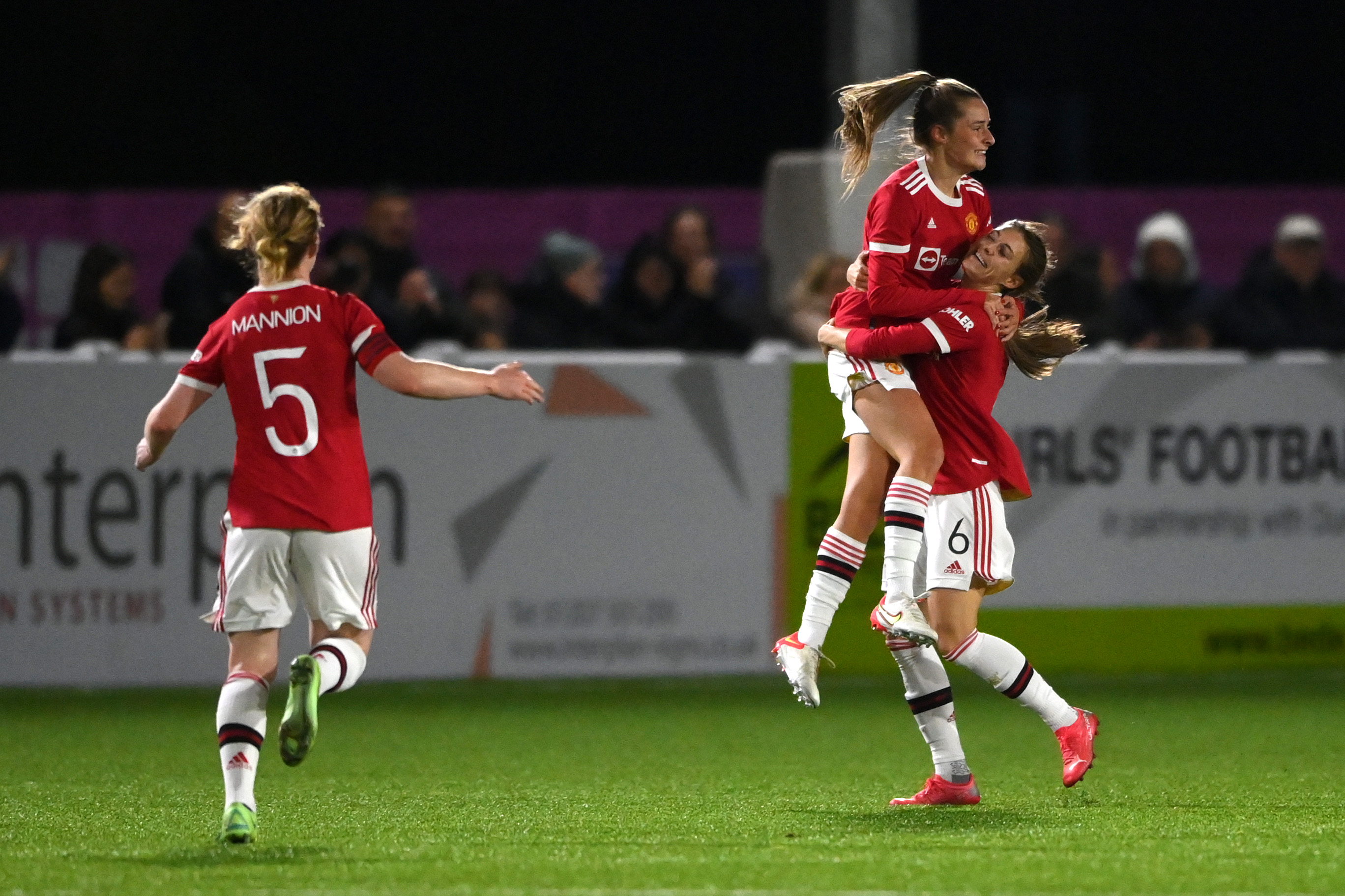 Durham Women v Manchester United Women - FA Women's Continental Tyres League Cup