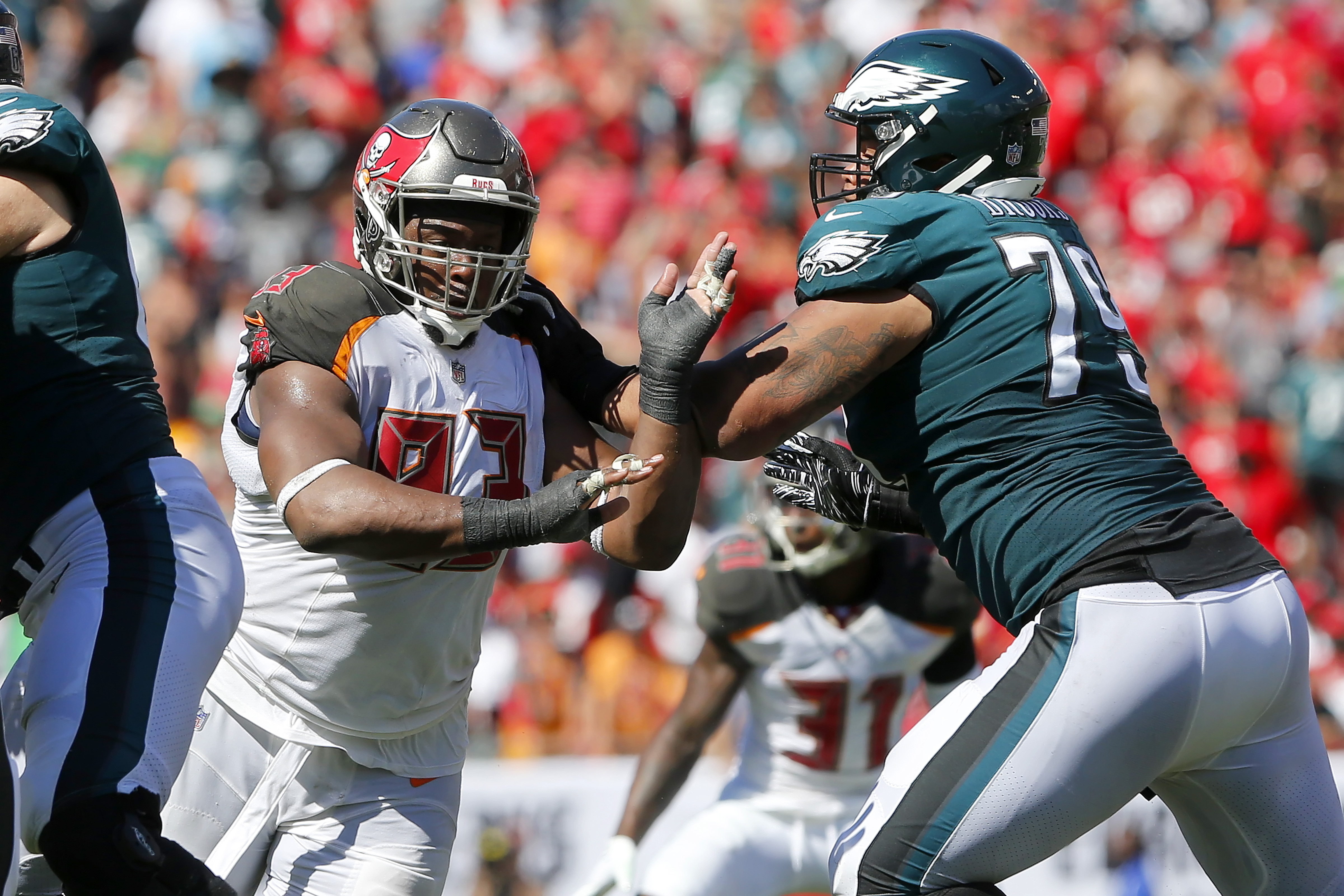 NFL: SEP 16 Eagles at Buccaneers