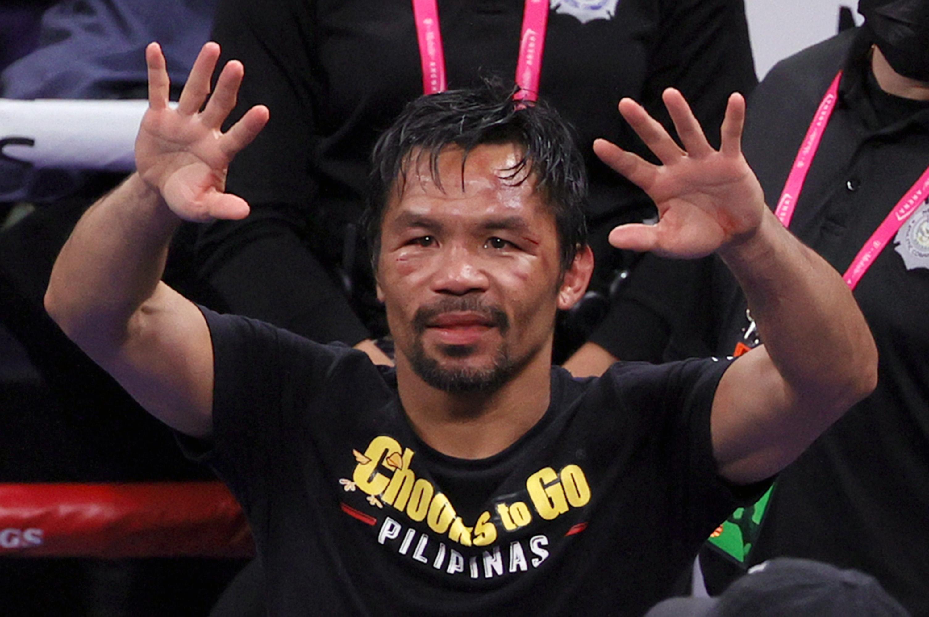 Yordenis Ugás v Manny Pacquiao boxing news