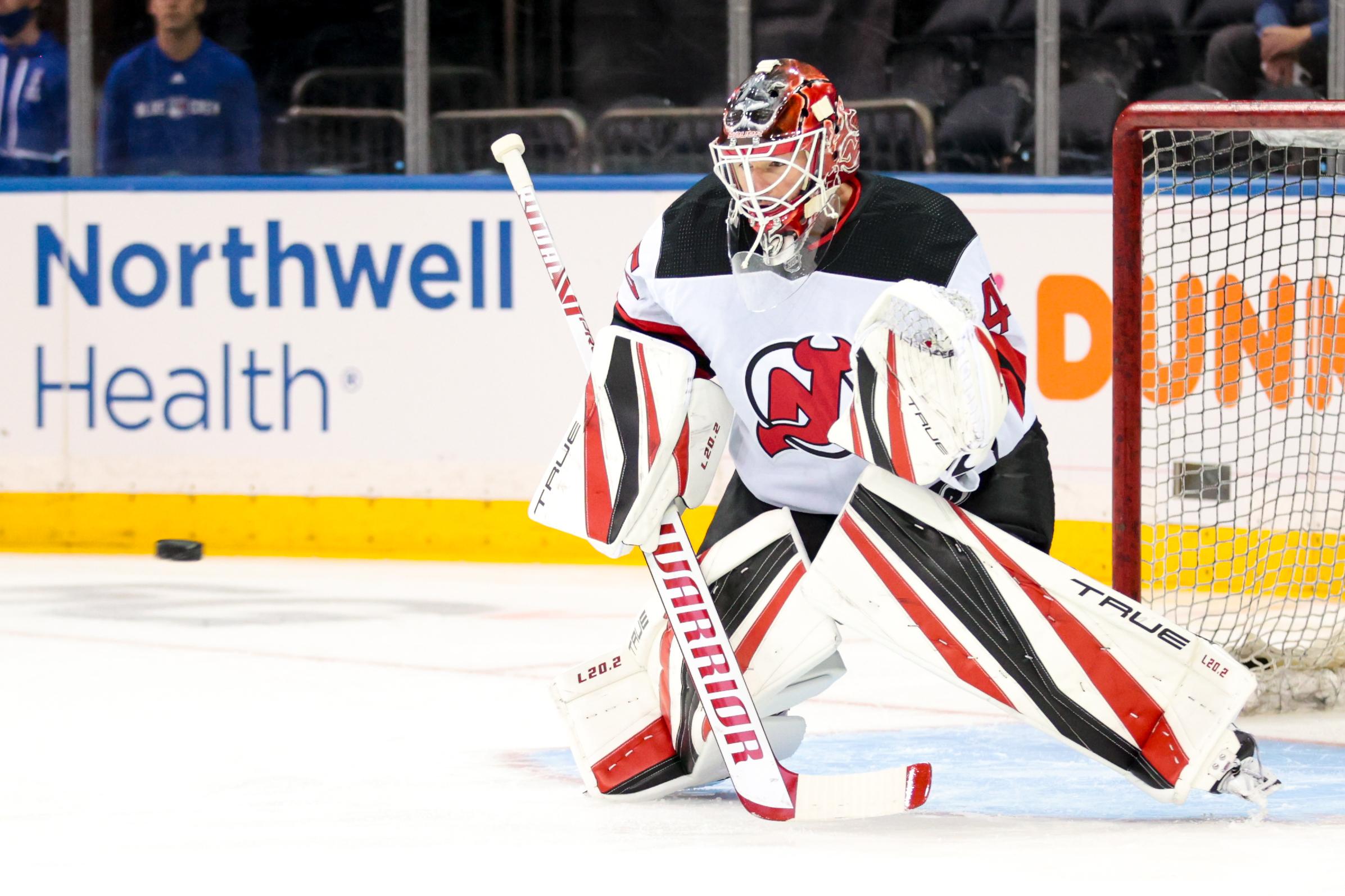 NHL: OCT 06 Devils at Rangers