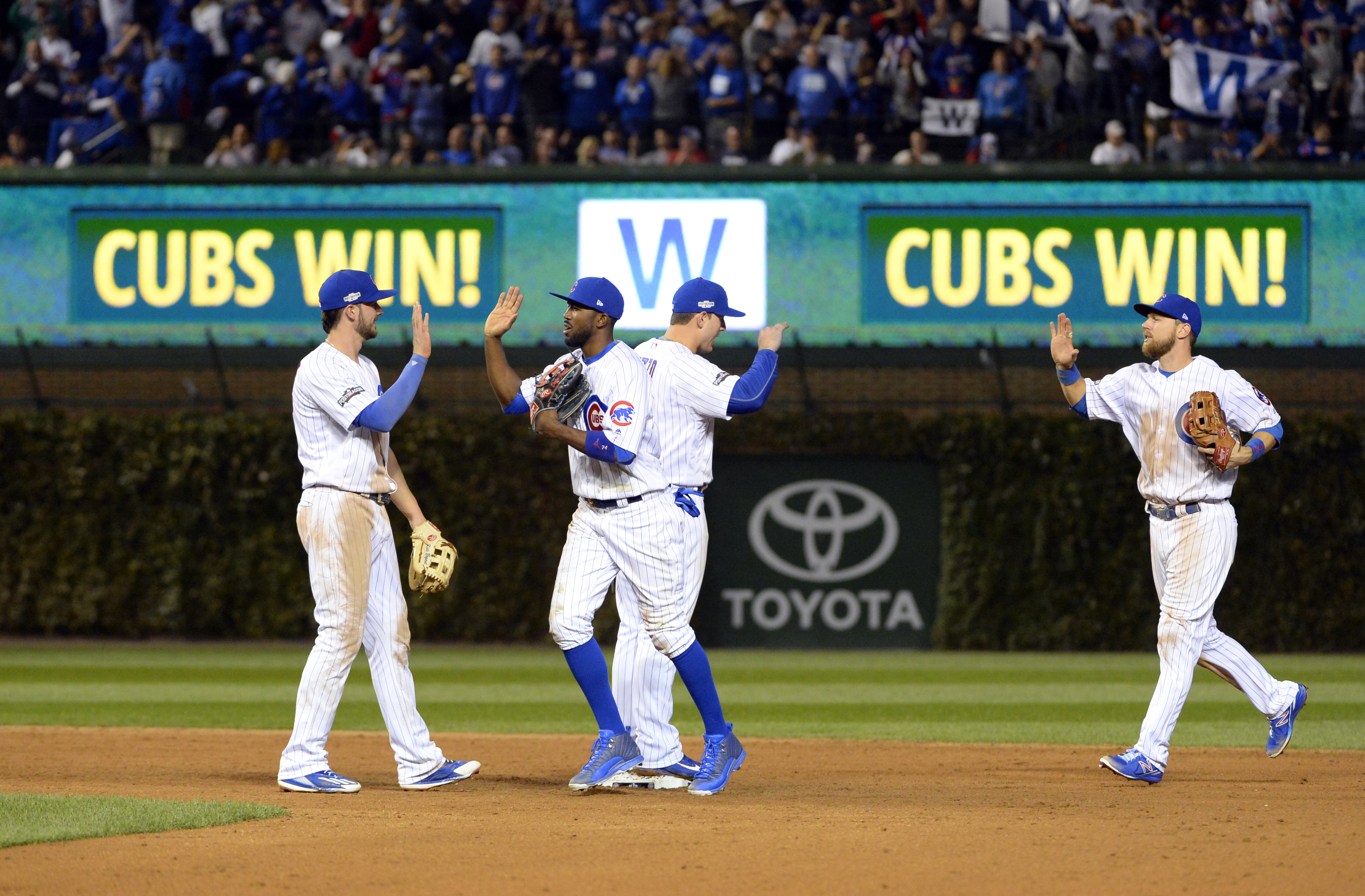 National League Championship Series - Los Angeles Dodgers v. Chicago Cubs - Game One