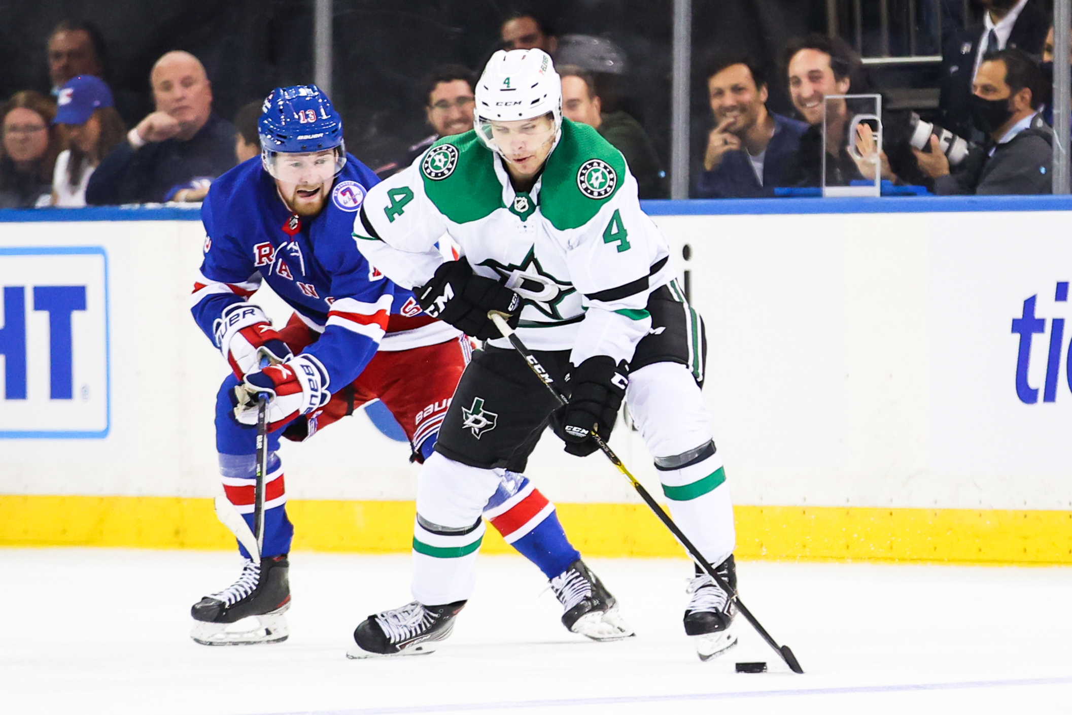 NHL: OCT 14 Stars at Rangers