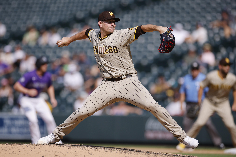 MLB: AUG 18 Padres at Rockies