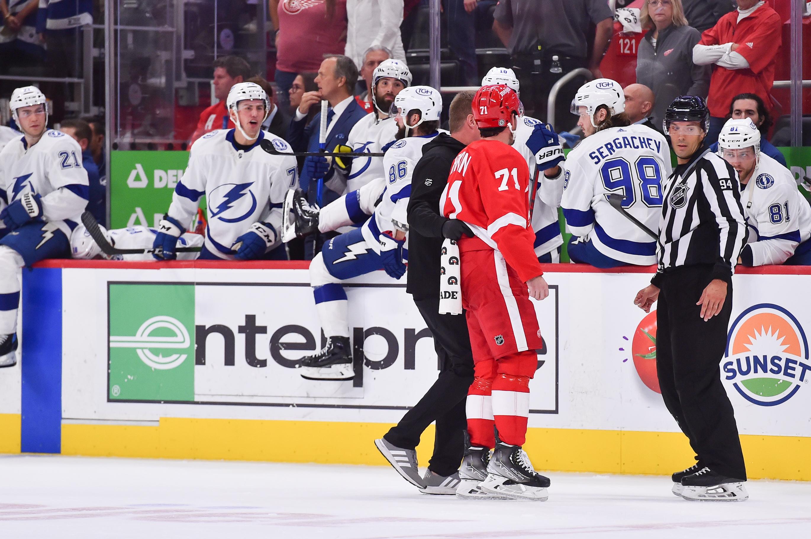 NHL: OCT 14 Lightning at Red Wings
