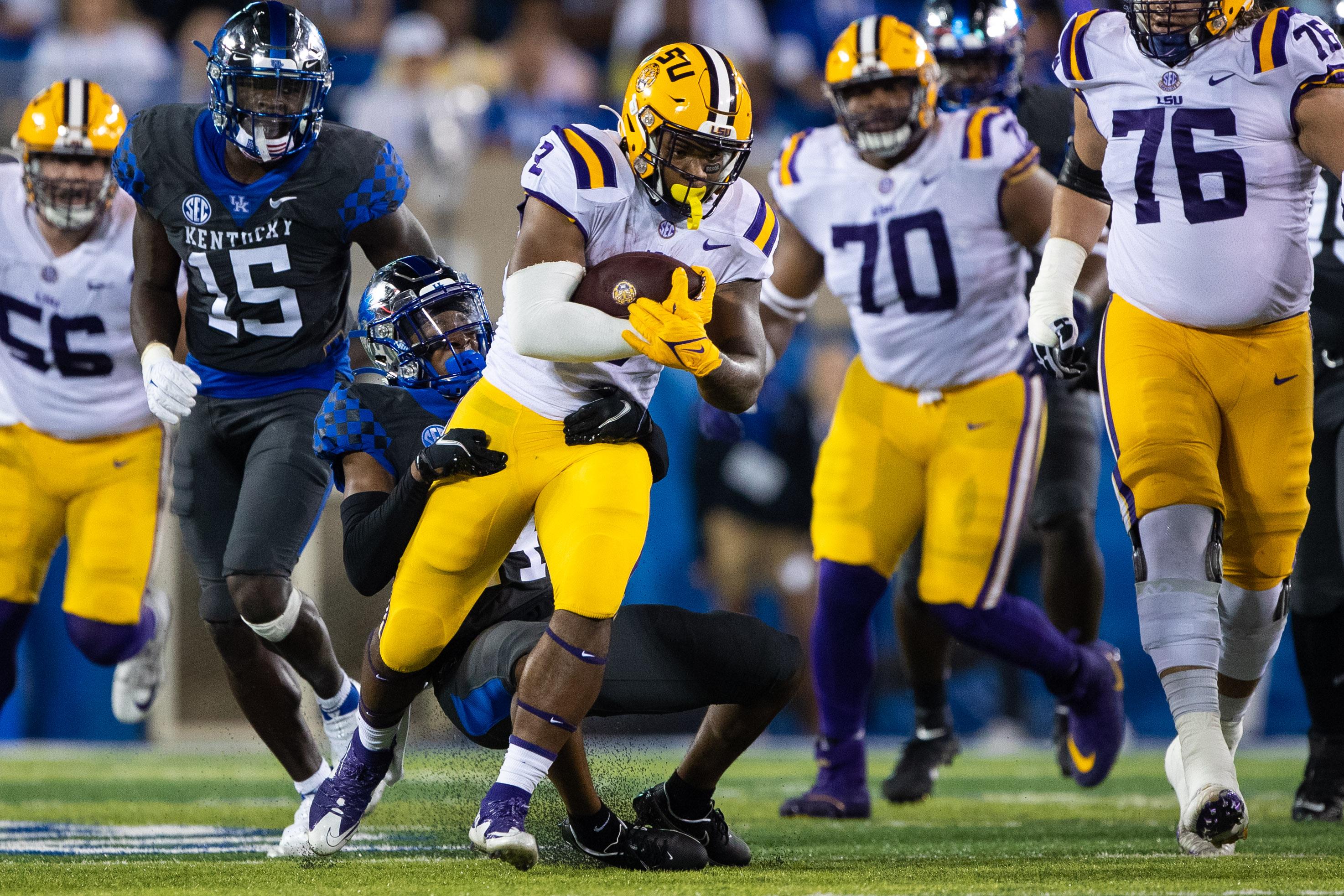 NCAA Football: Louisiana State at Kentucky