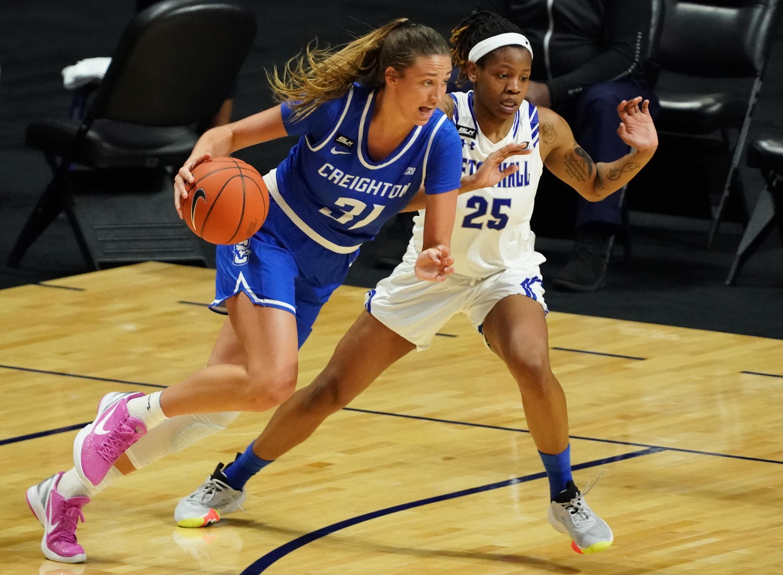 NCAA Womens Basketball: Big East Conference Tournament-Seton Hall vs Creighton