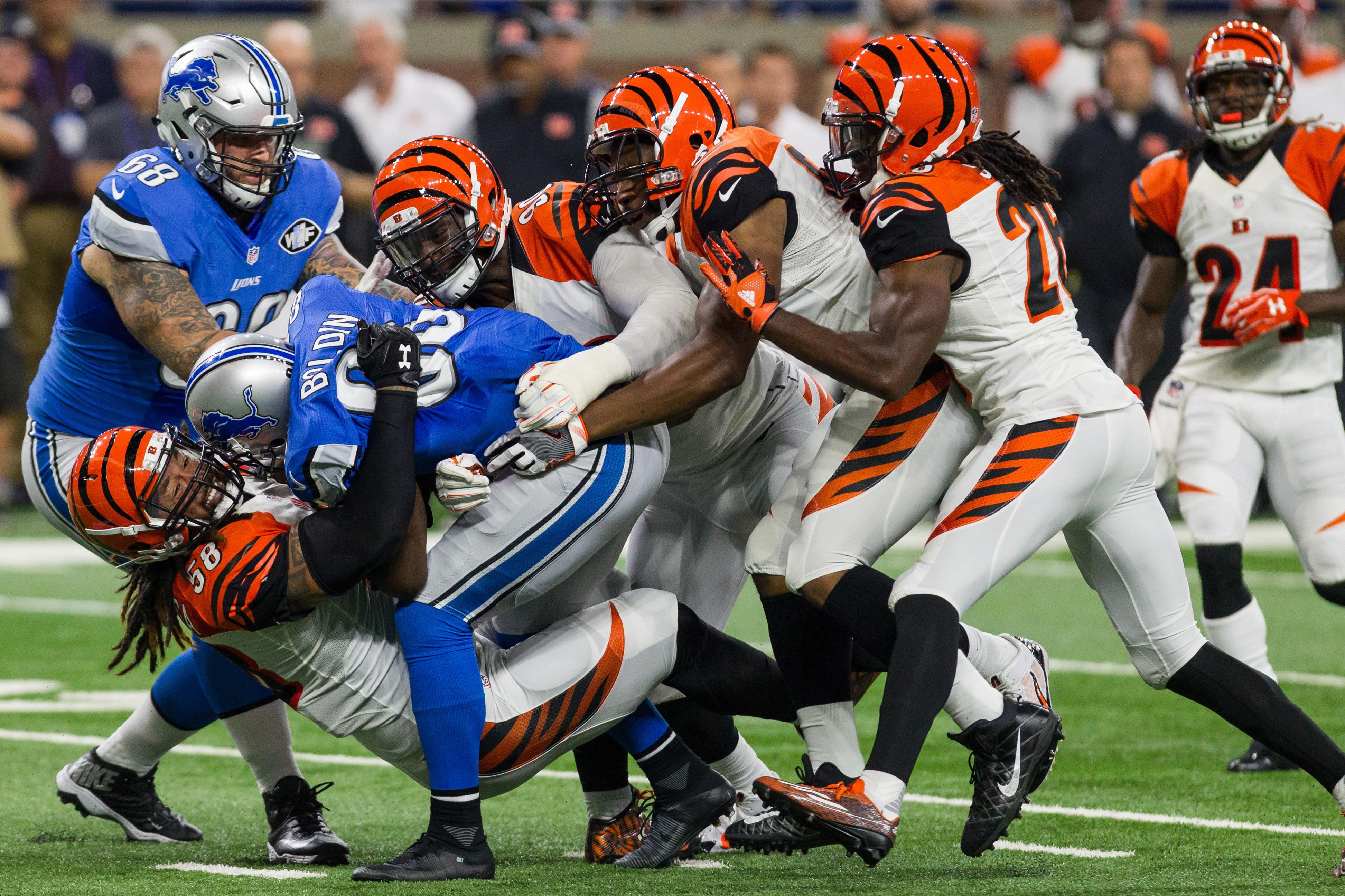 NFL: AUG 18 Preseason - Bengals at Lions