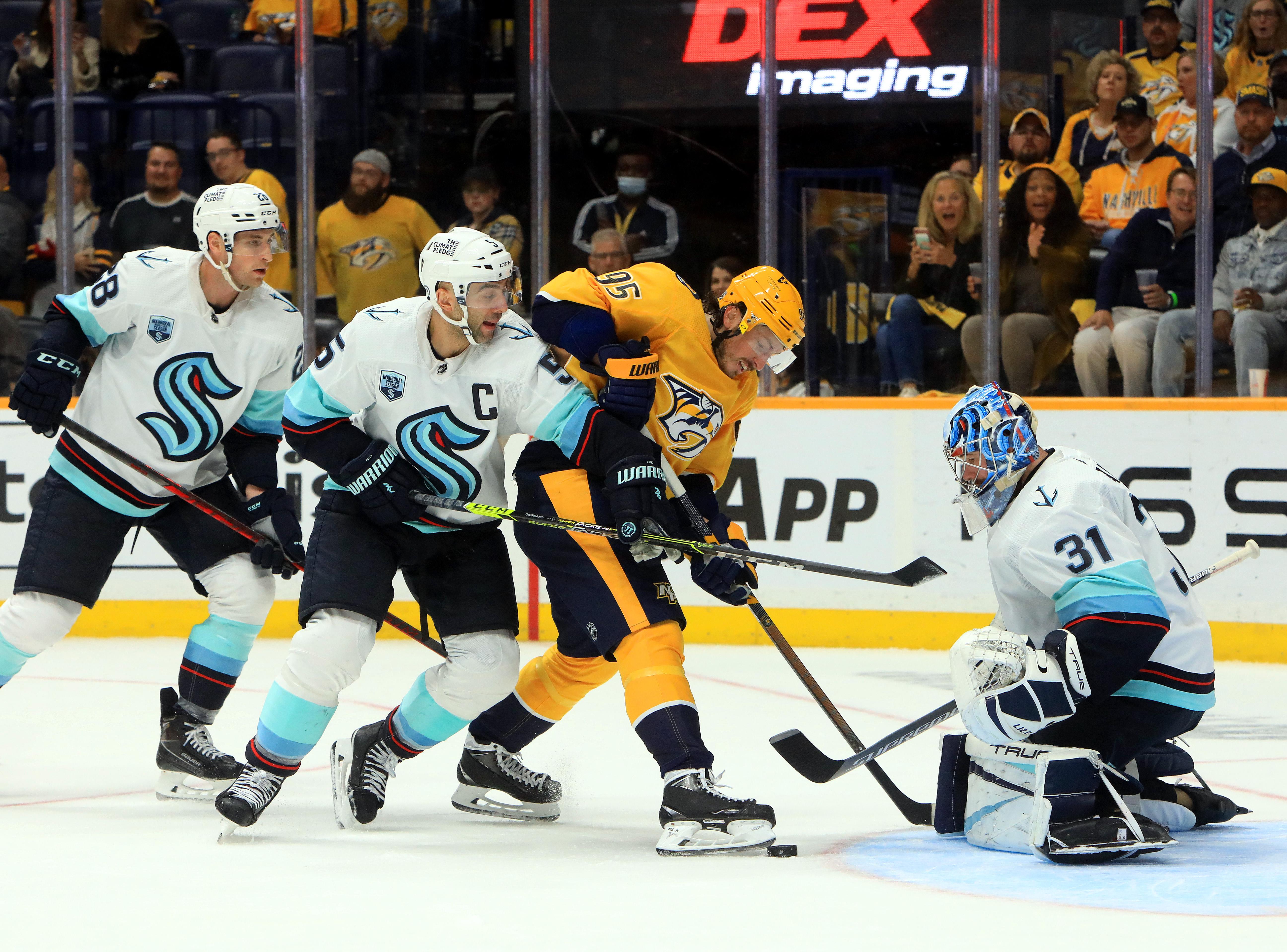 NHL: OCT 14 Kraken at Predators