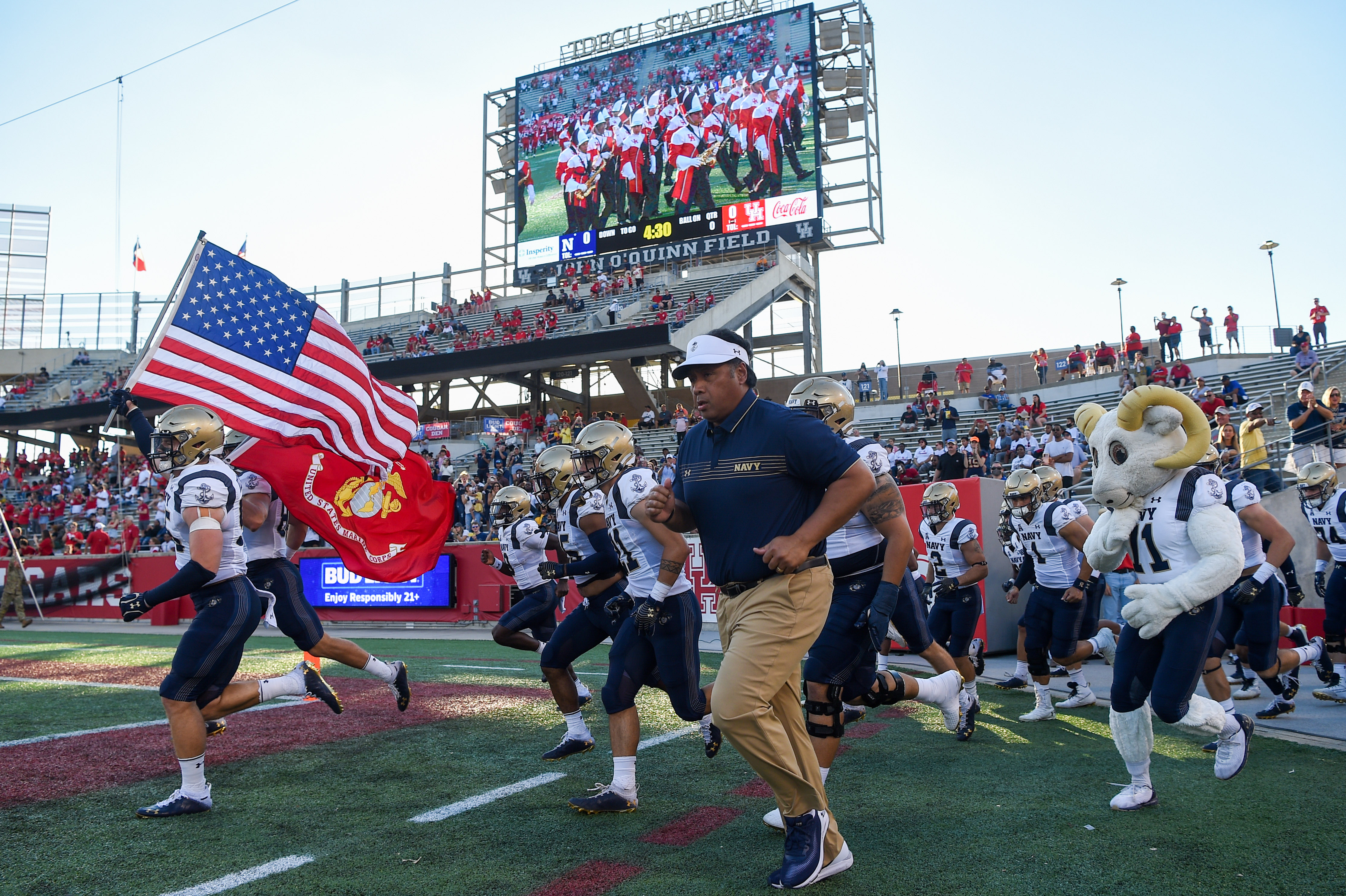 COLLEGE FOOTBALL: SEP 25 Navy at Houston