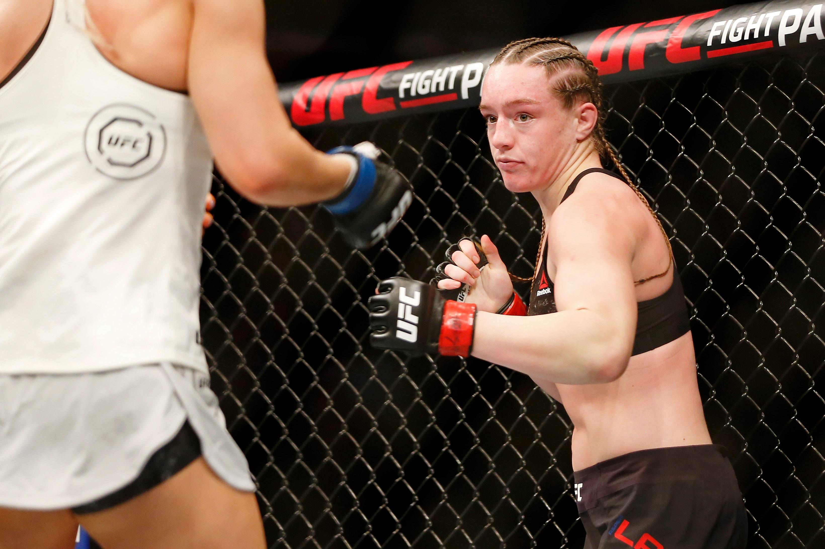 MMA: UFC Fight Night-Washington DC-Ladd vs Kunitskaya