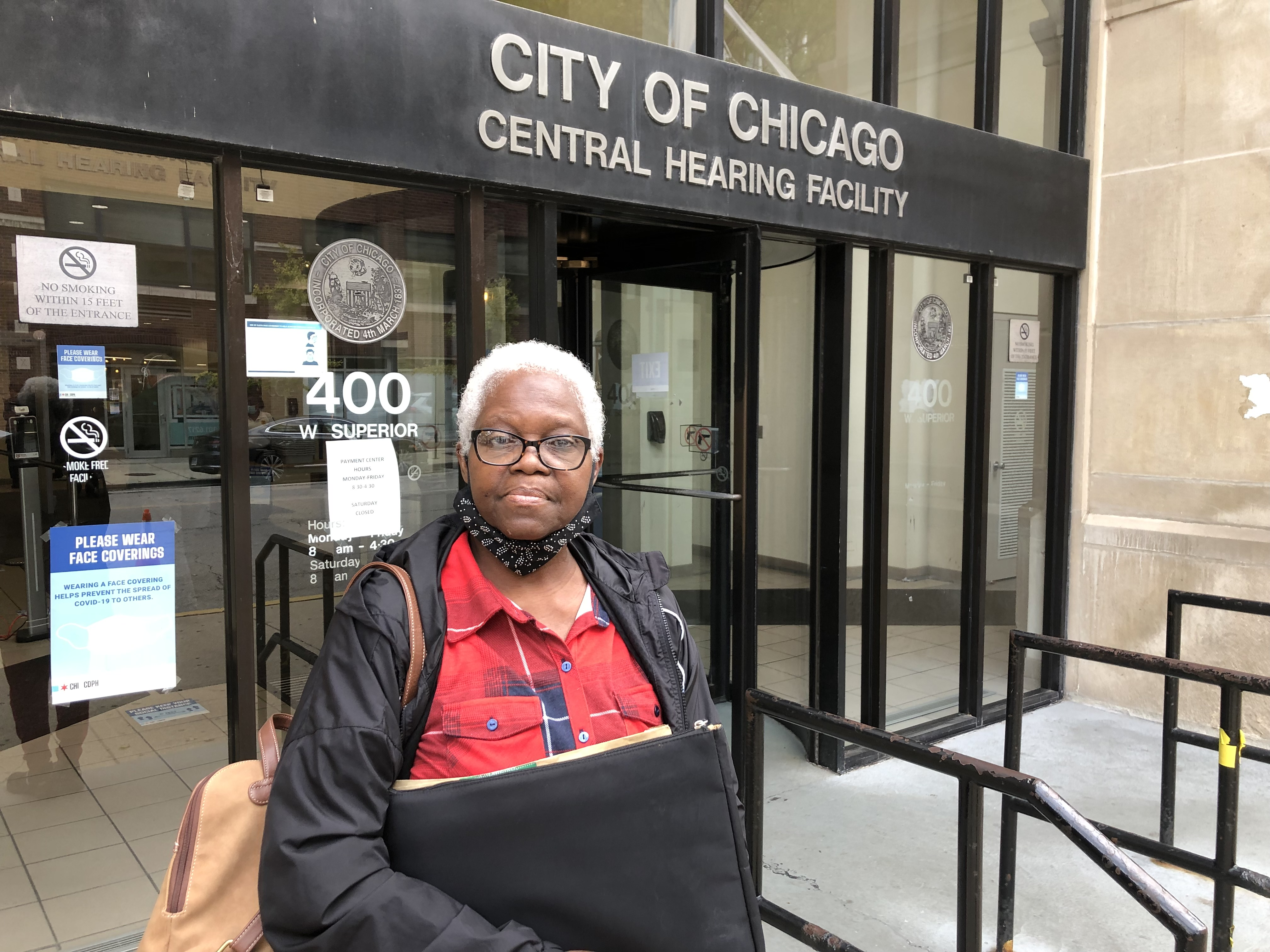 Wanda Carter, 70, moved out of her Englewood home in 2008 after the bank foreclosed. But City Hall keeps fining her for property's maintenance.