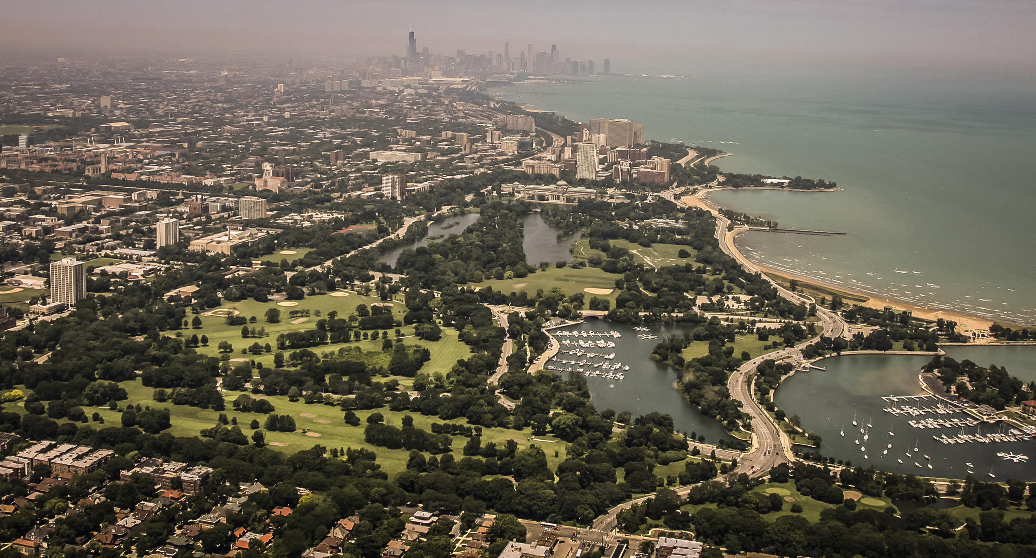 The Chicago Park District wants to merge the Jackson Park (shown) and South Shore golf courses.