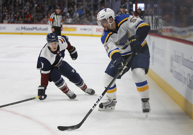 NHL: JAN 02 Blues at Avalanche