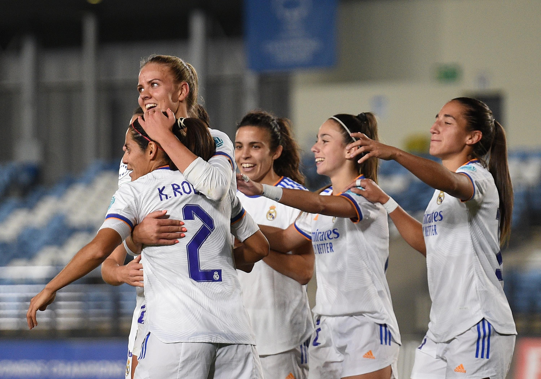 Real Madrid v Breidablik: Group B - UEFA Women's Champions League