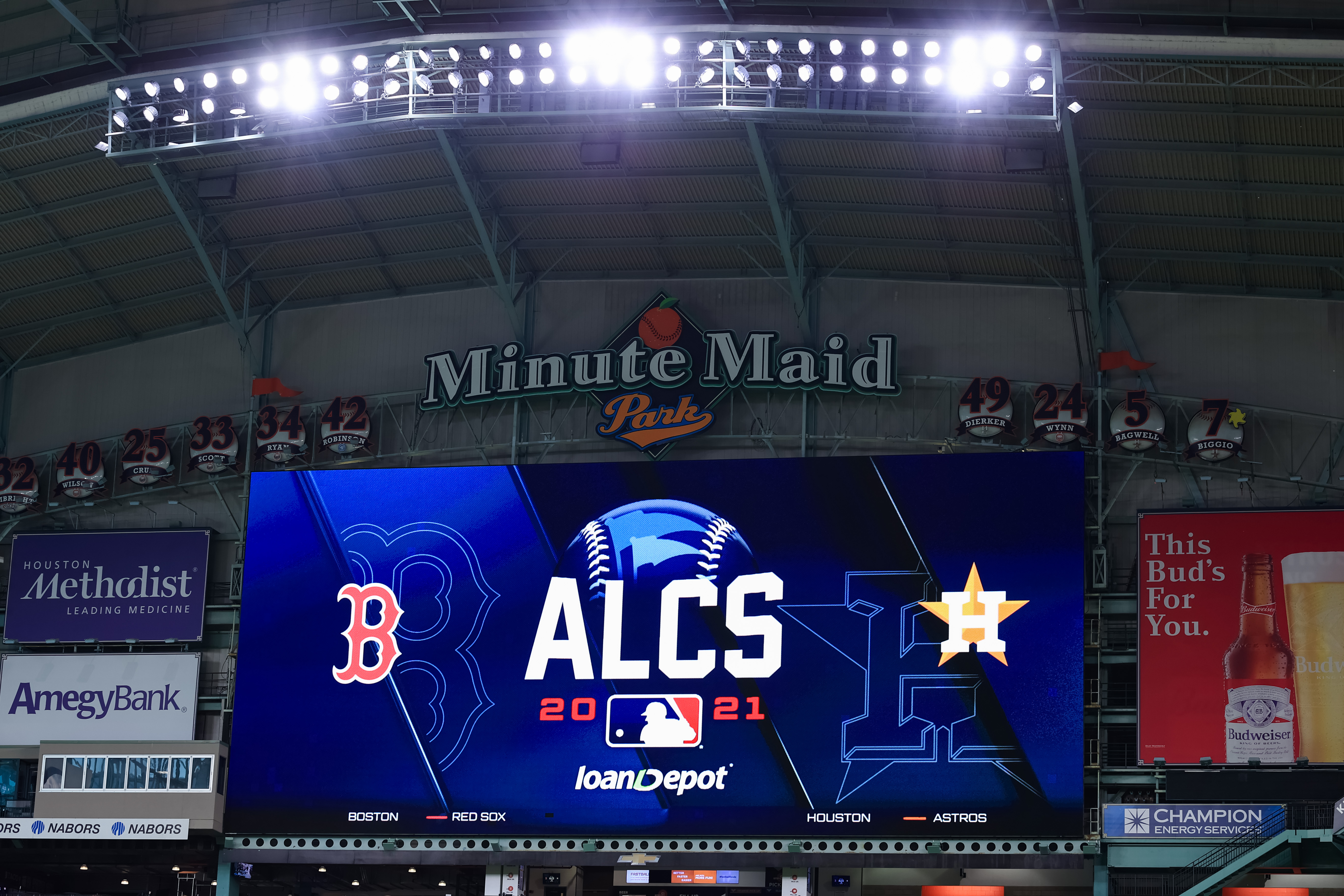 American League Championship Series - Workout Day