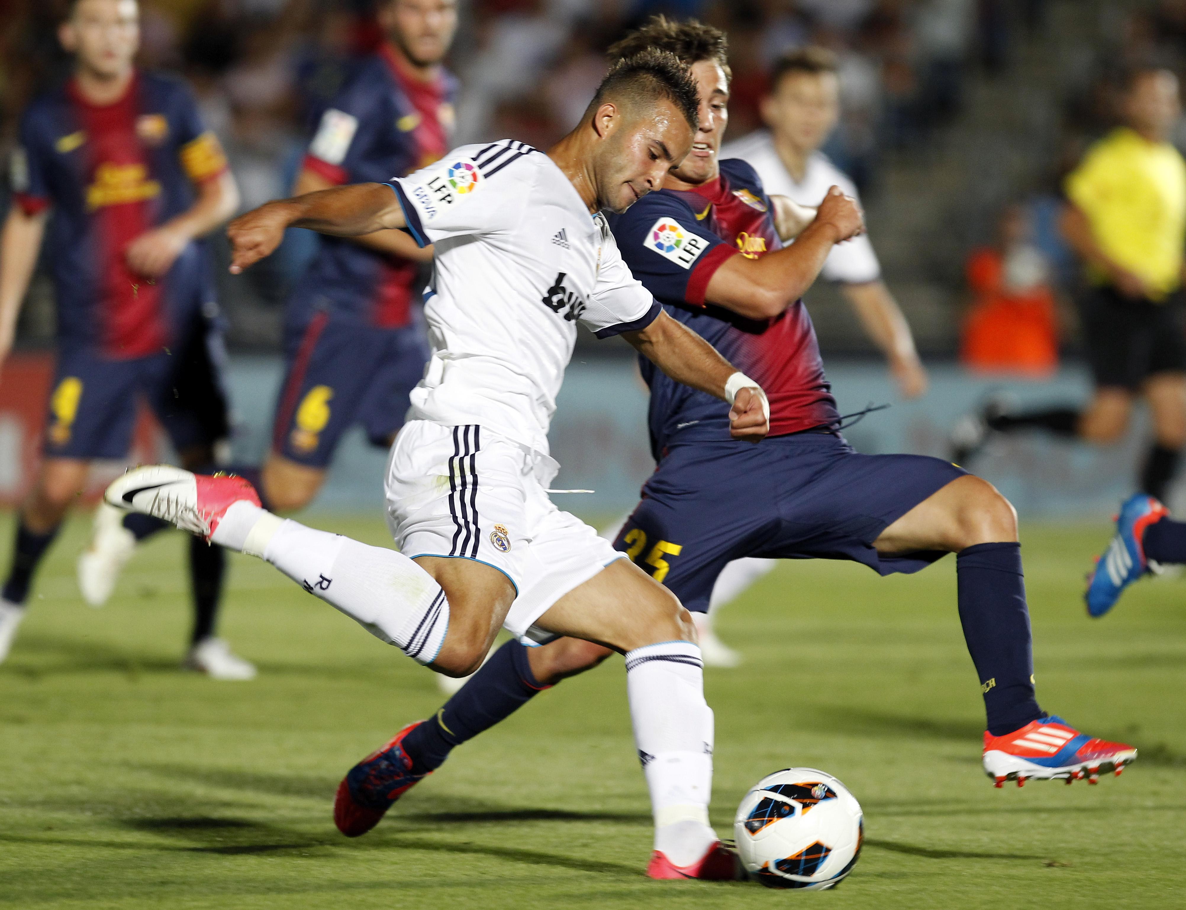 Real Madrid Castilla v Barcelona B - Liga Adelante