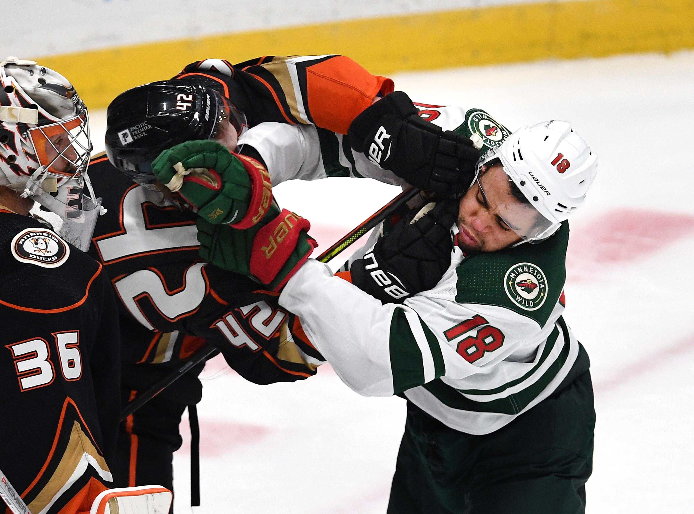NHL: JAN 18 Wild at Ducks