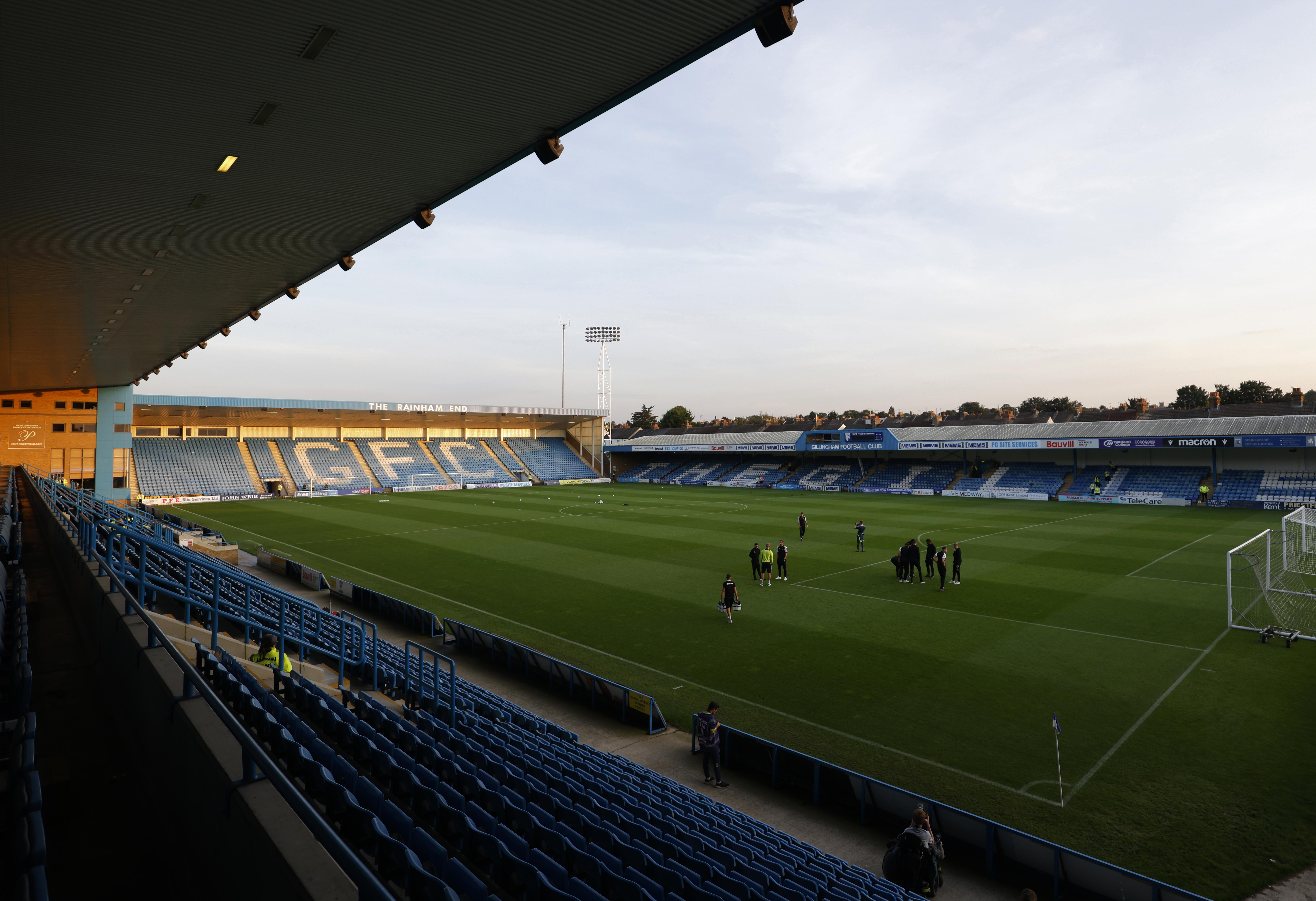 Gillingham v Charlton Athletic - Sky Bet League One - Priestfield Stadium