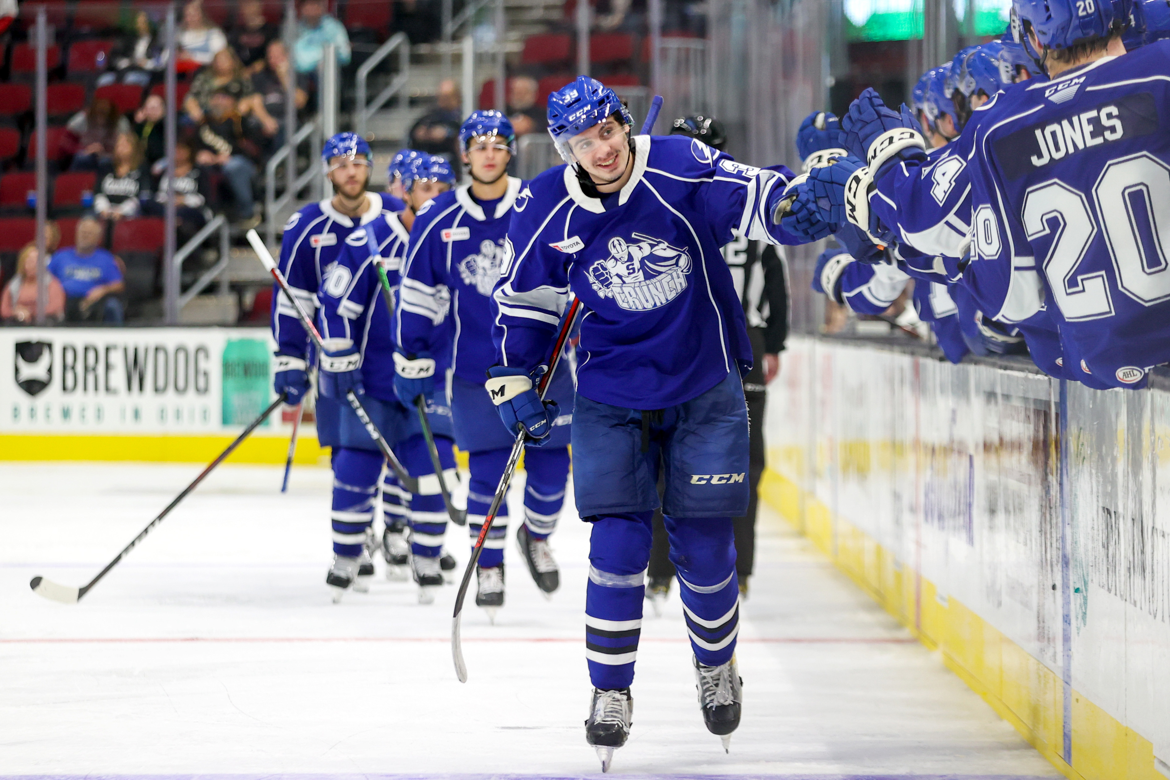 AHL: OCT 15 Syracuse Crunch at Cleveland Monsters