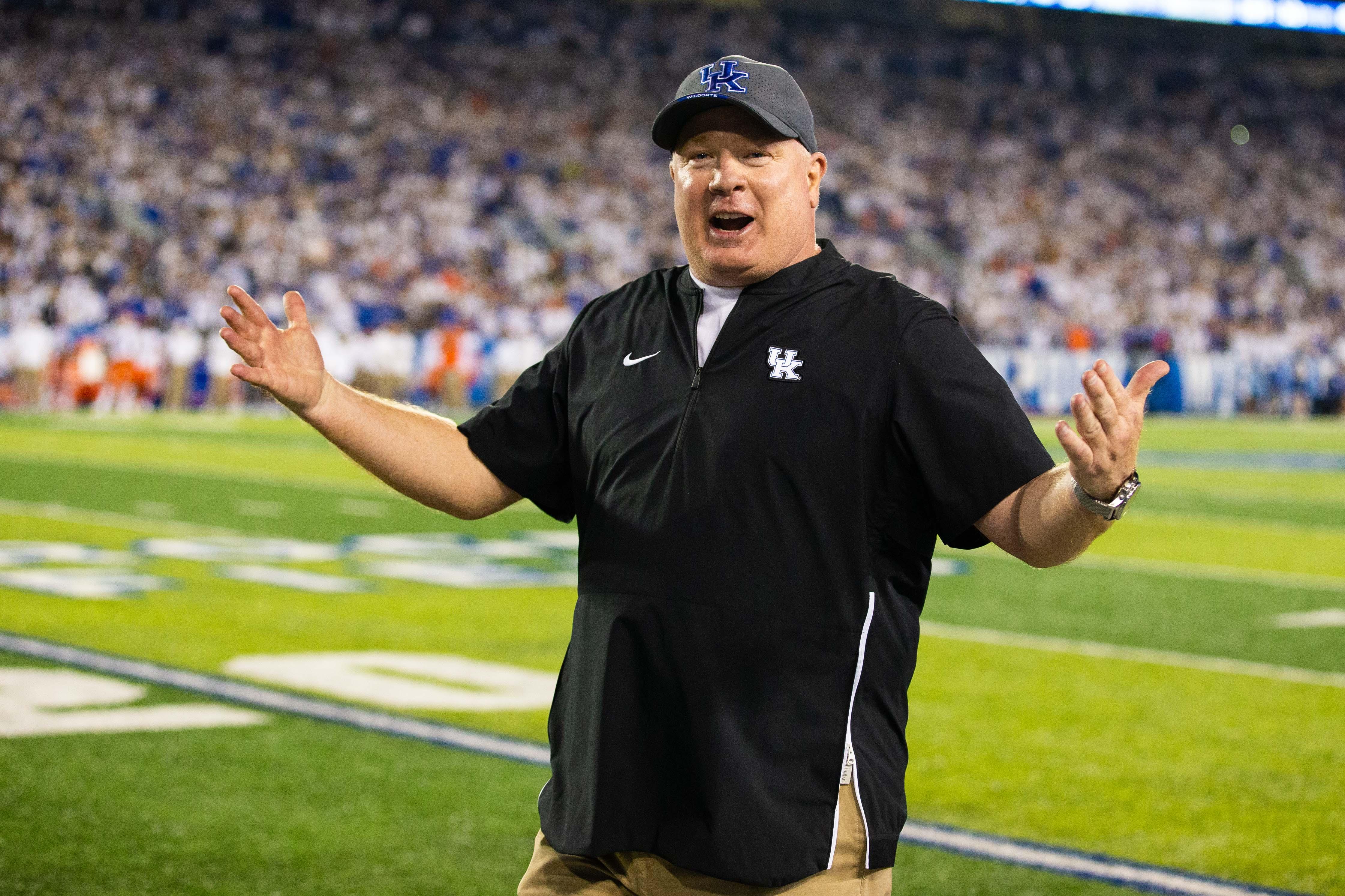 NCAA Football: Florida at Kentucky