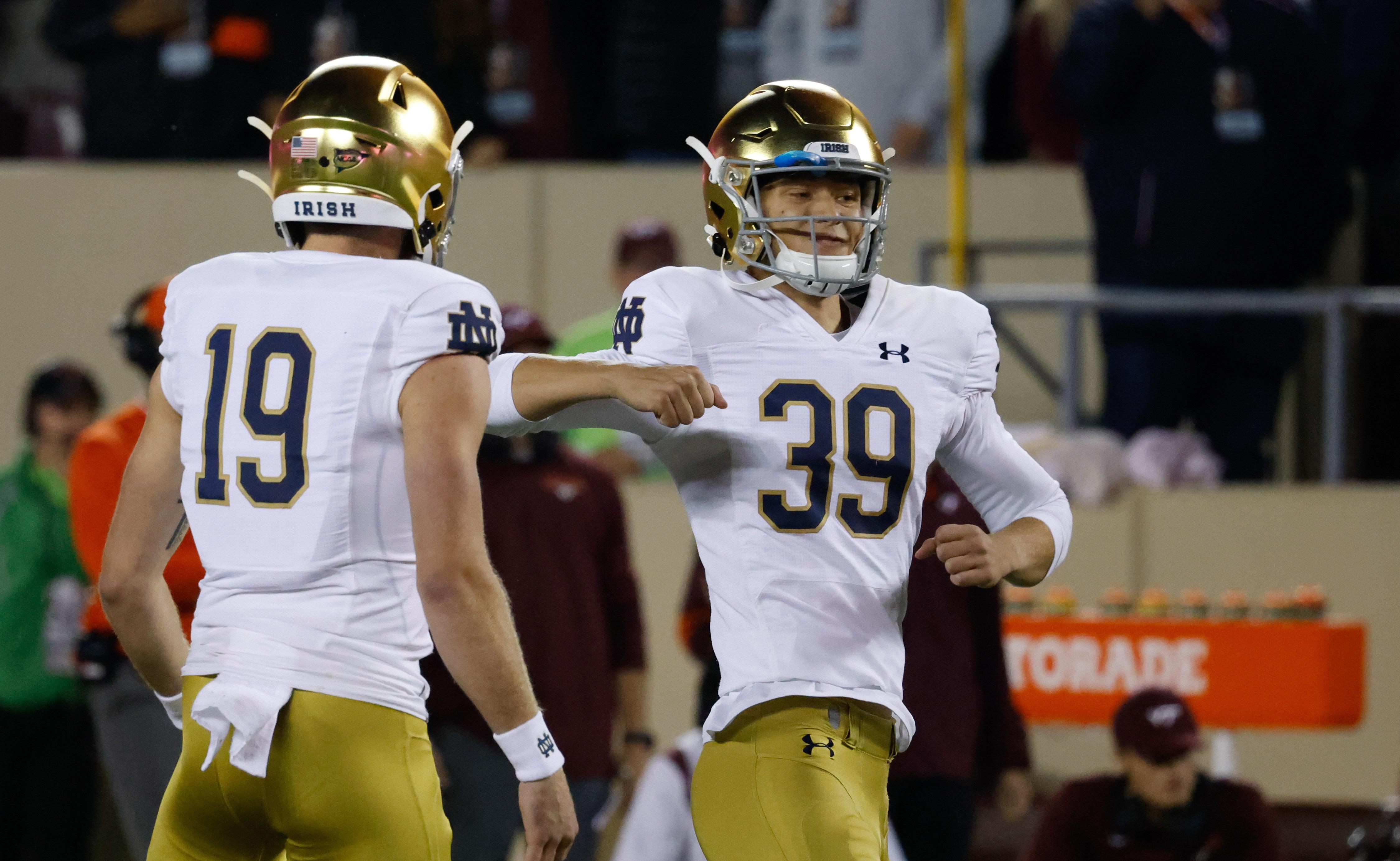 NCAA Football: Notre Dame at Virginia Tech