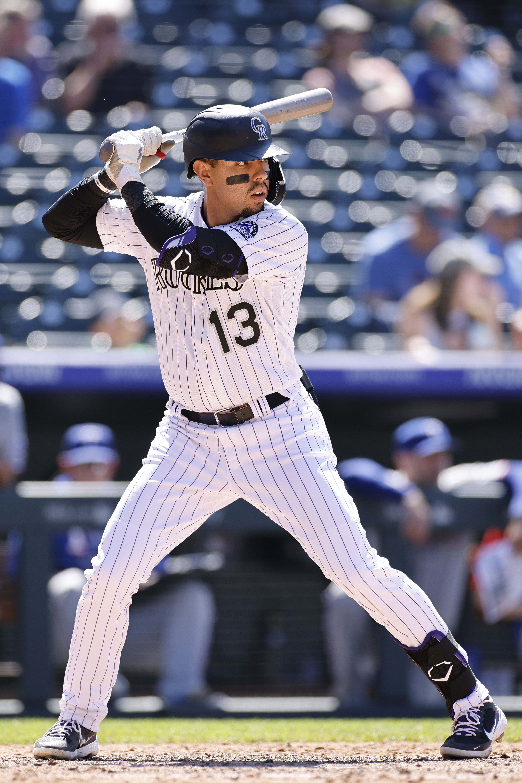 MLB: JUN 03 Rangers at Rockies