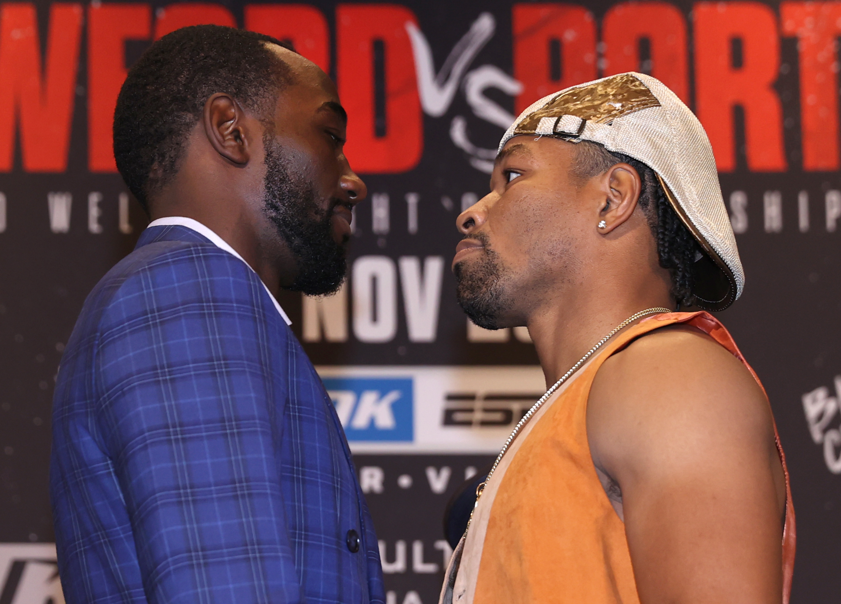 Terence Crawford and Shawn Porter go face-to-face