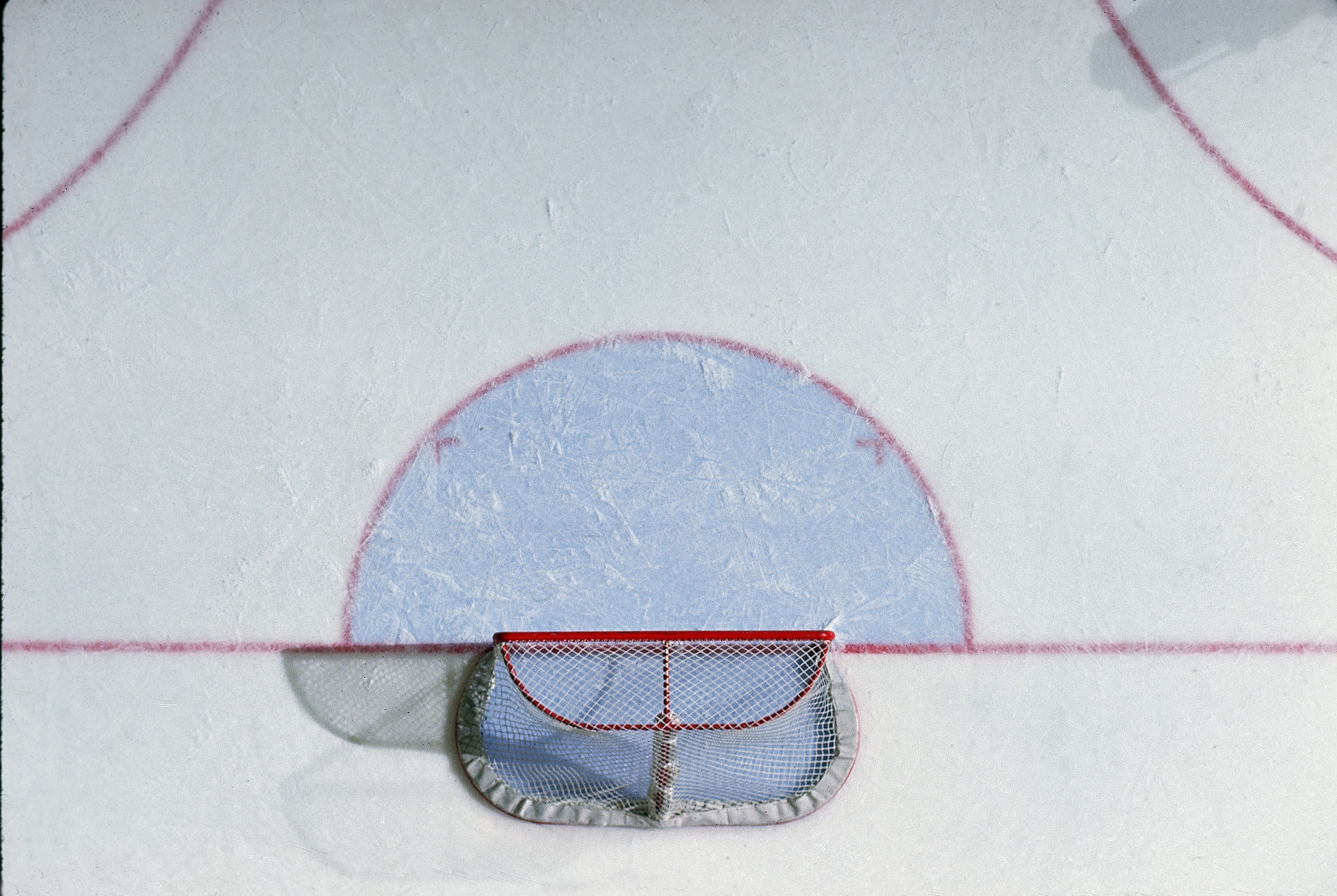 View Of Goal From Above