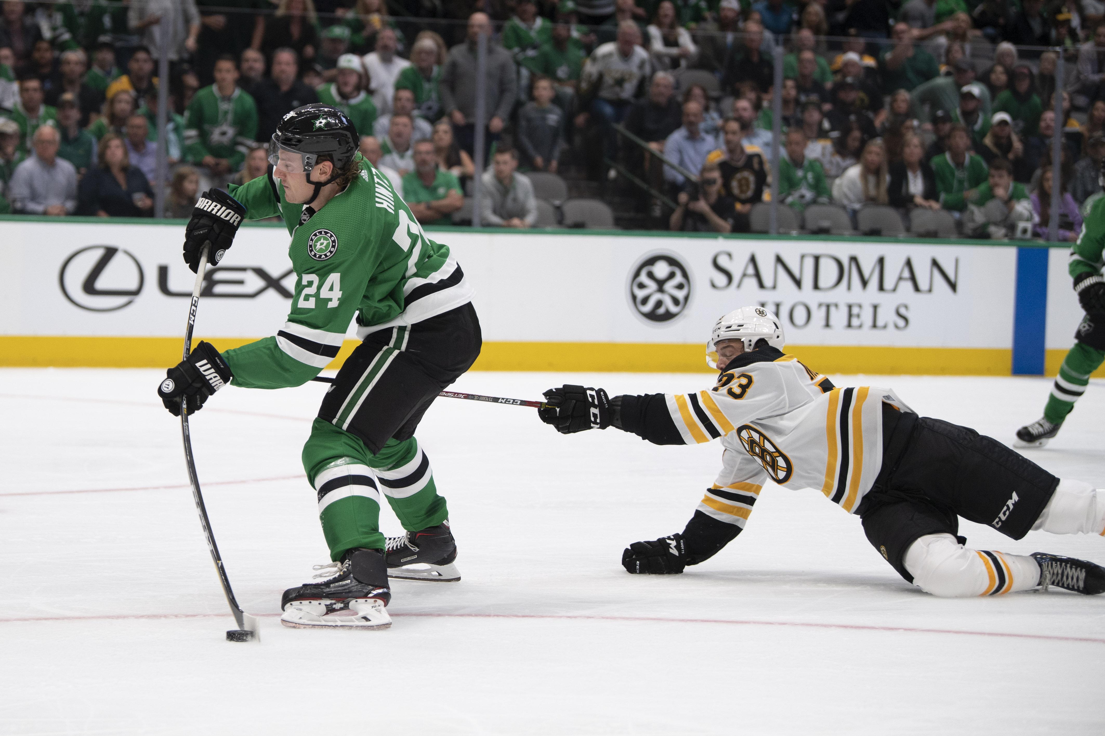 NHL: Boston Bruins at Dallas Stars