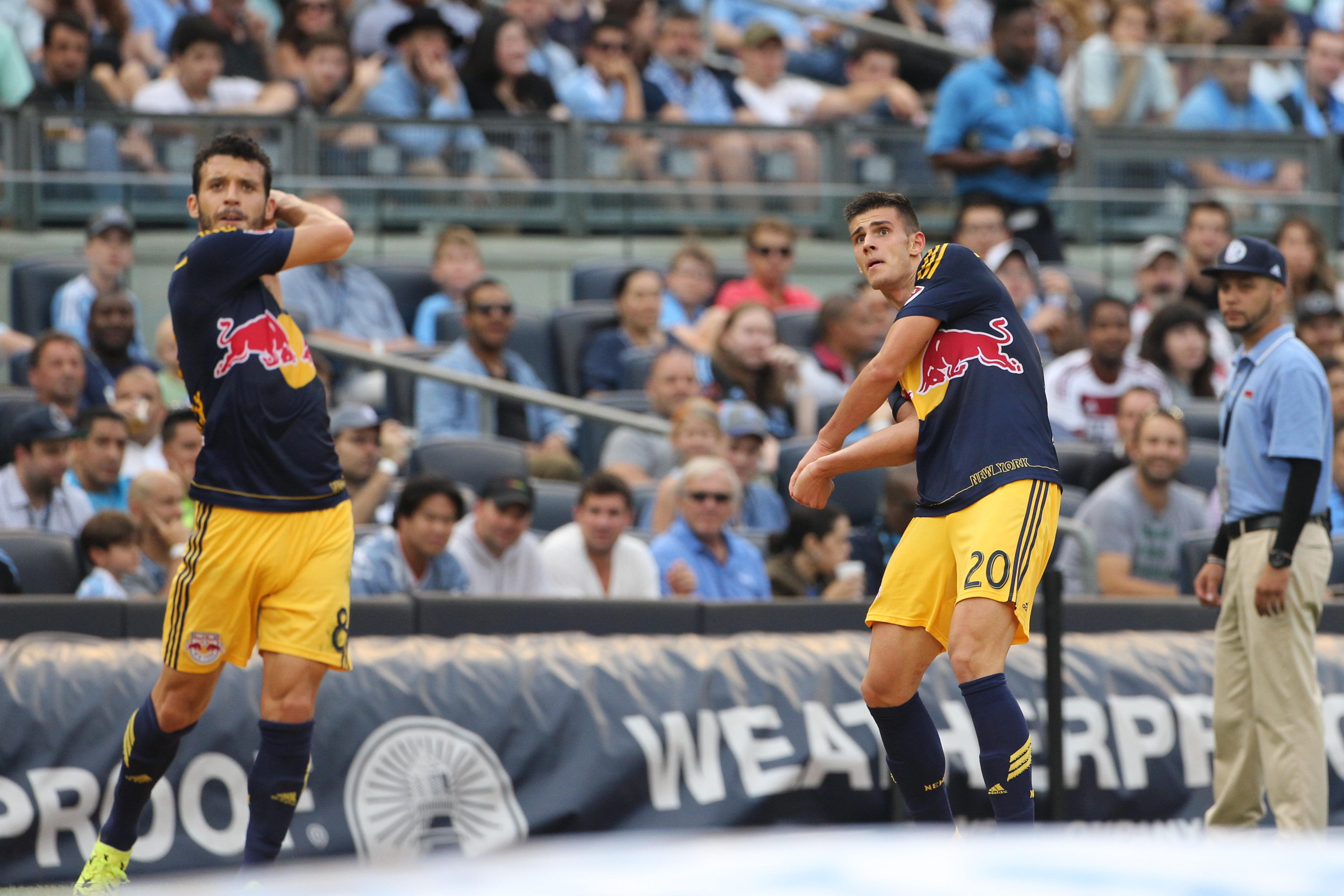 Soccer - MLS - NYCFC vs. New York Red Bulls