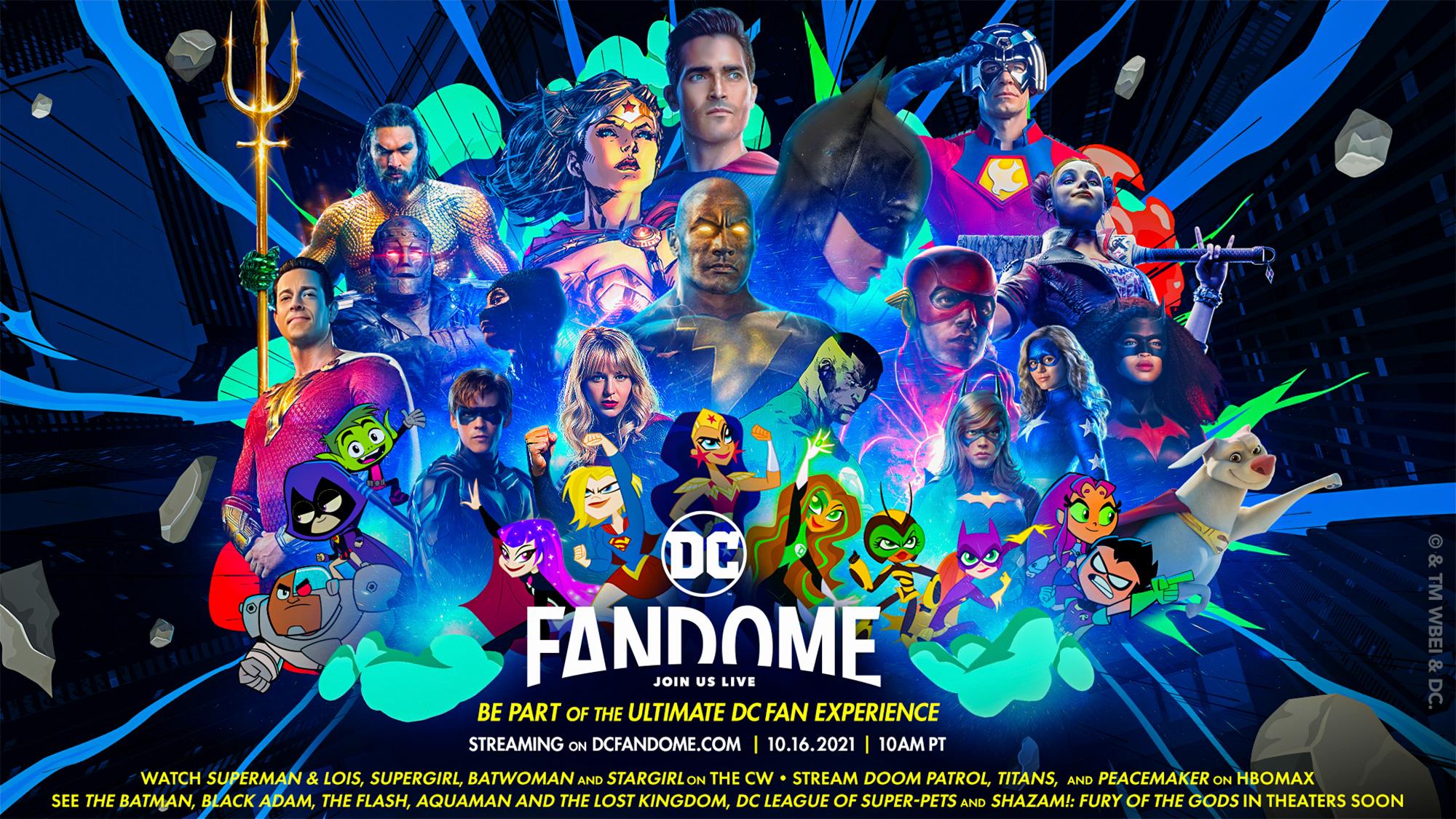 DC FanDome poster
