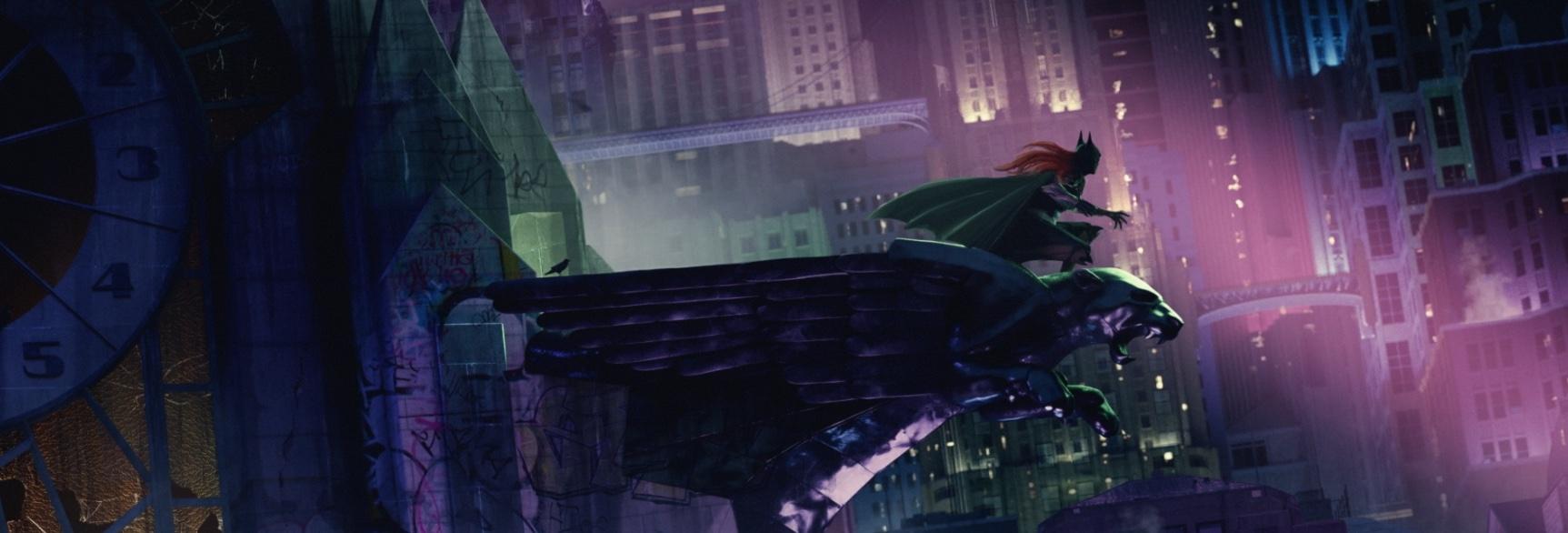 Batgirl movie concept art