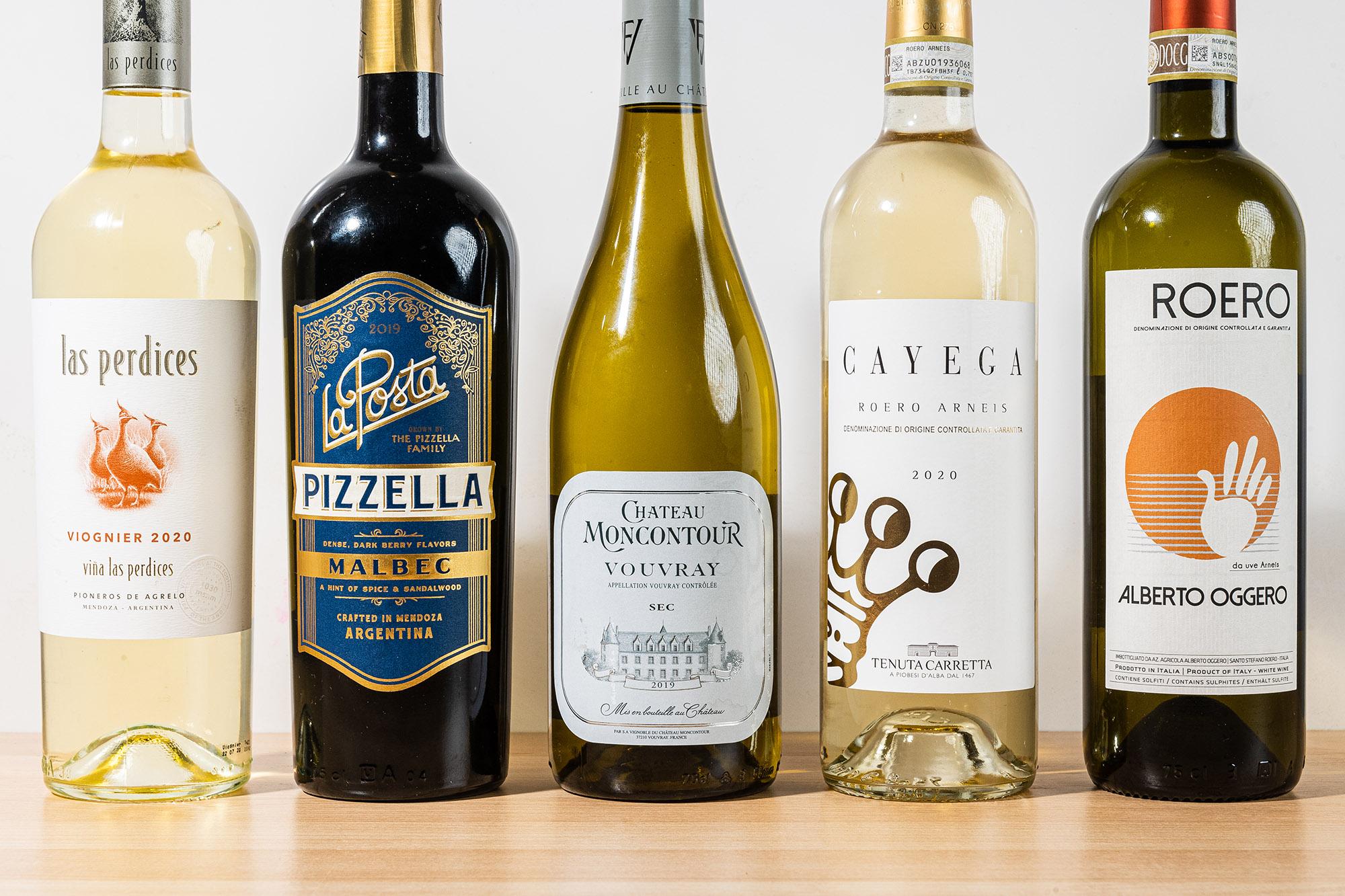 Wine bottles for Wine column 10/12