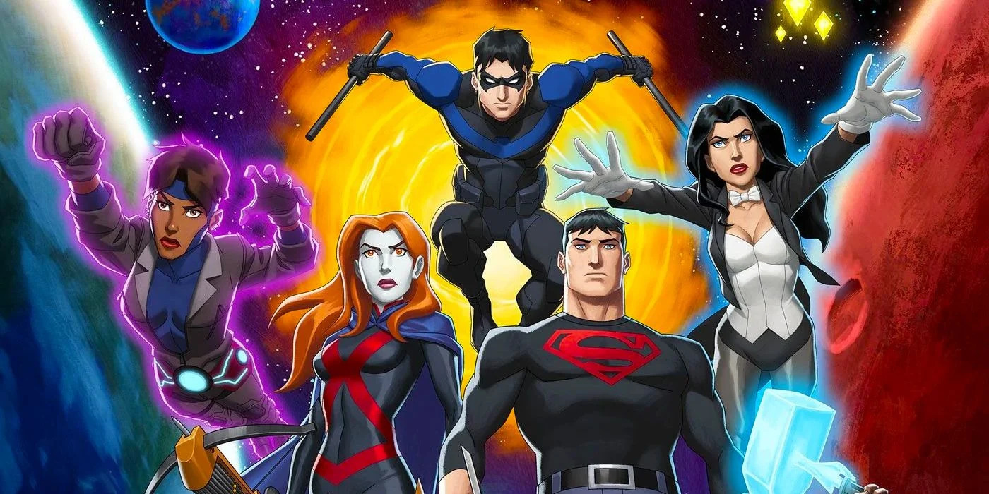 Young Justice Phantoms poster